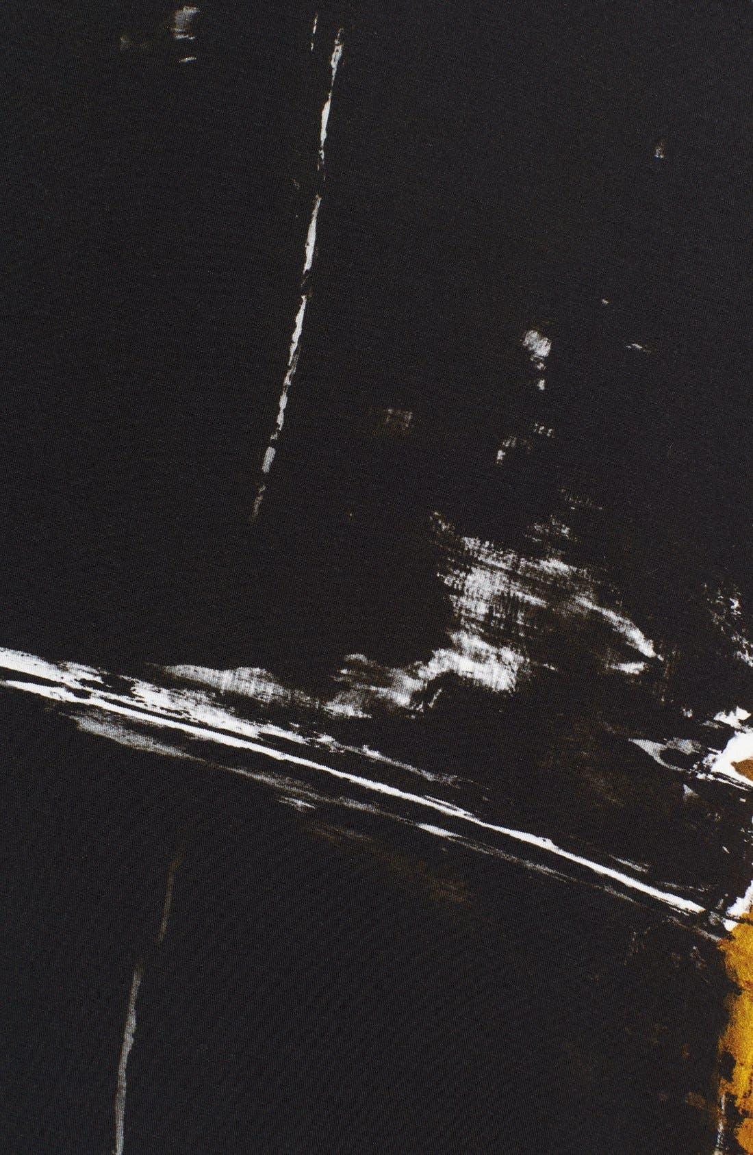 Donna Karan Collection 'Raku Brushstroke' Jersey Skirt,                             Alternate thumbnail 2, color,                             019