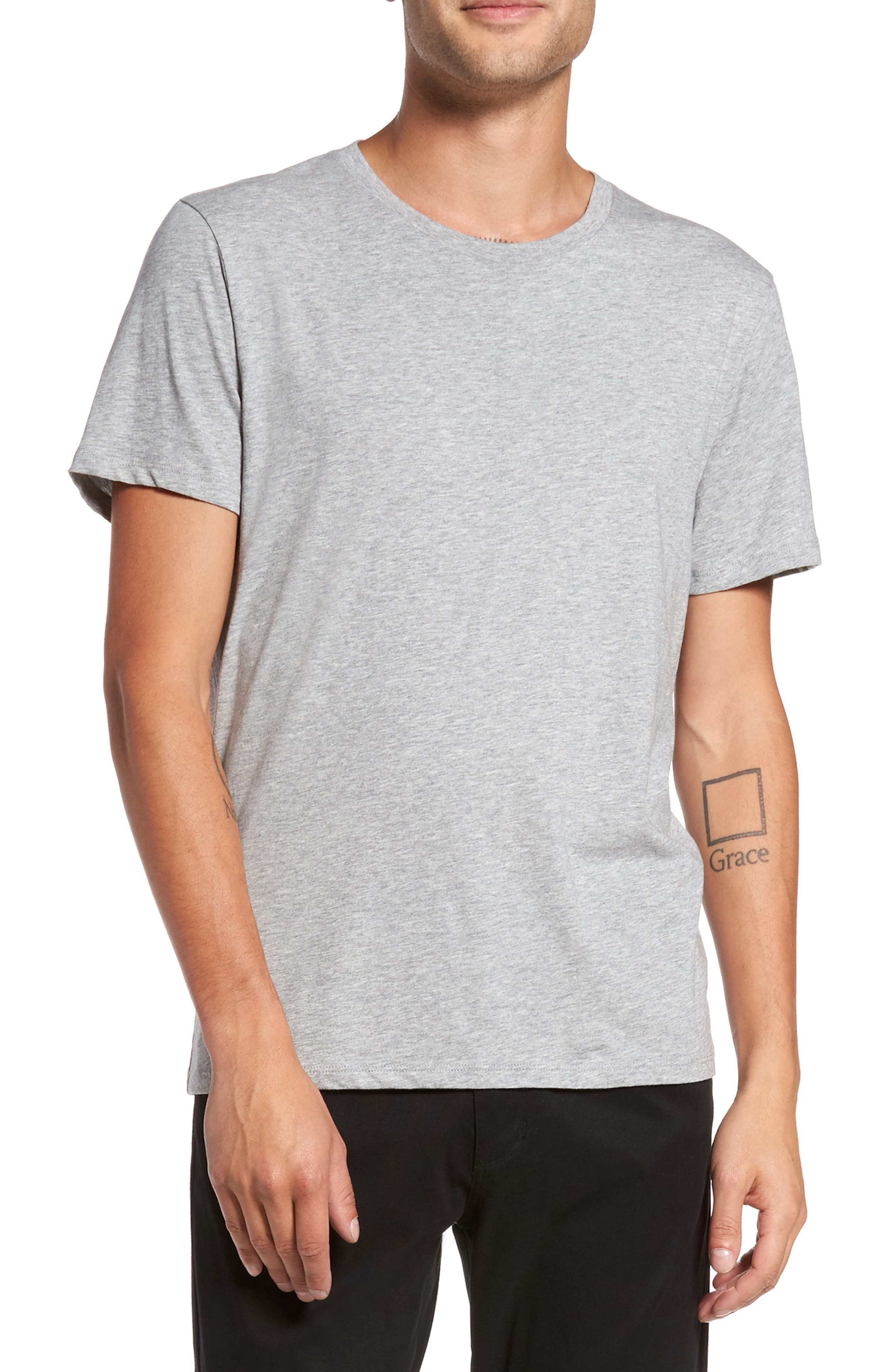 Regular Fit Crewneck T-Shirt,                             Main thumbnail 1, color,                             095