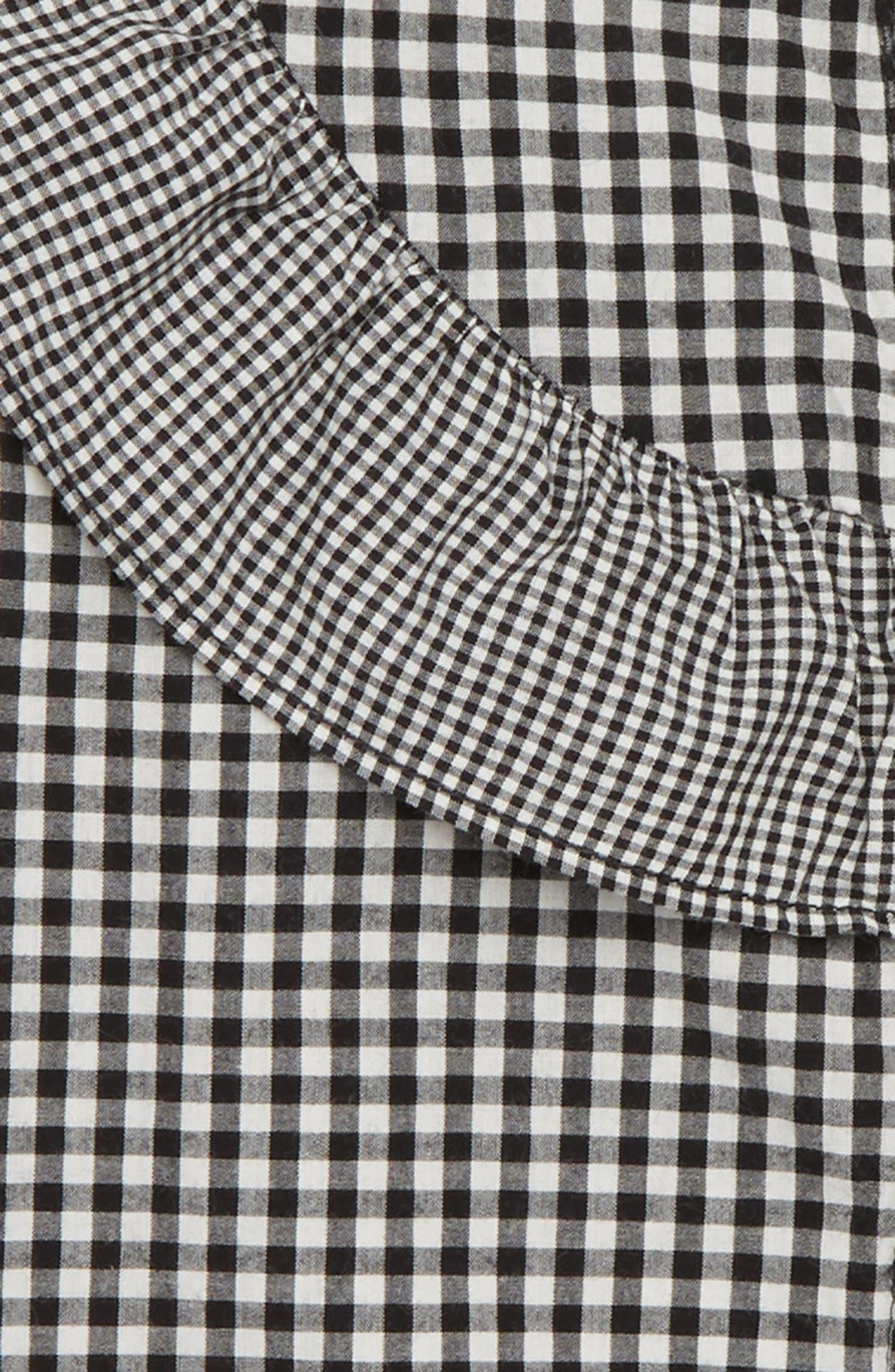 Sleeveless Ruffle Top,                             Alternate thumbnail 2, color,                             001