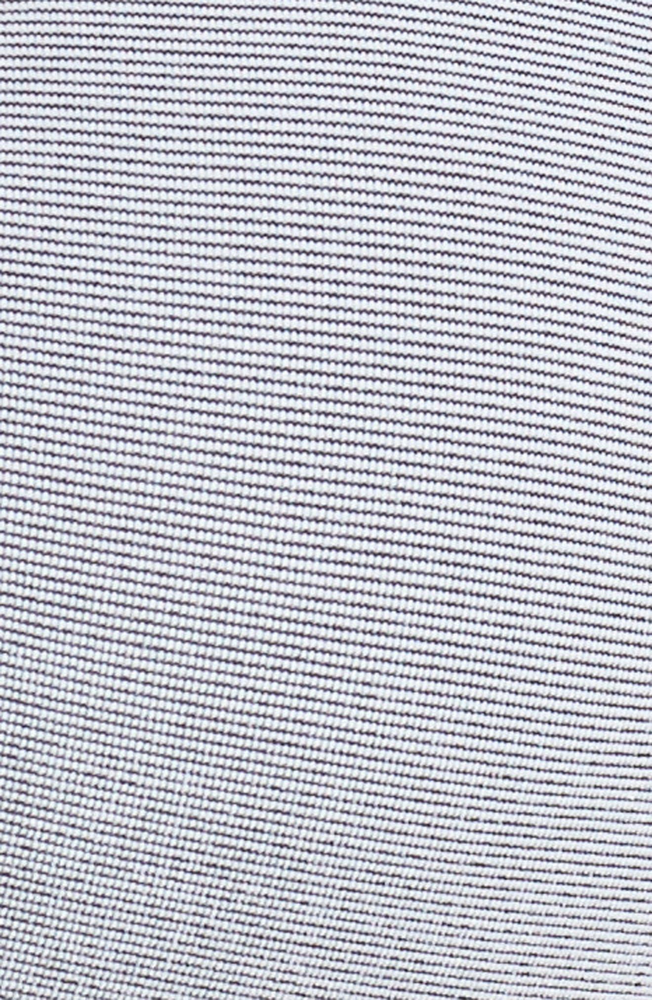 Seamless Contour Bralette,                             Alternate thumbnail 7, color,                             BLACK WHITE FEEDER STRIPE