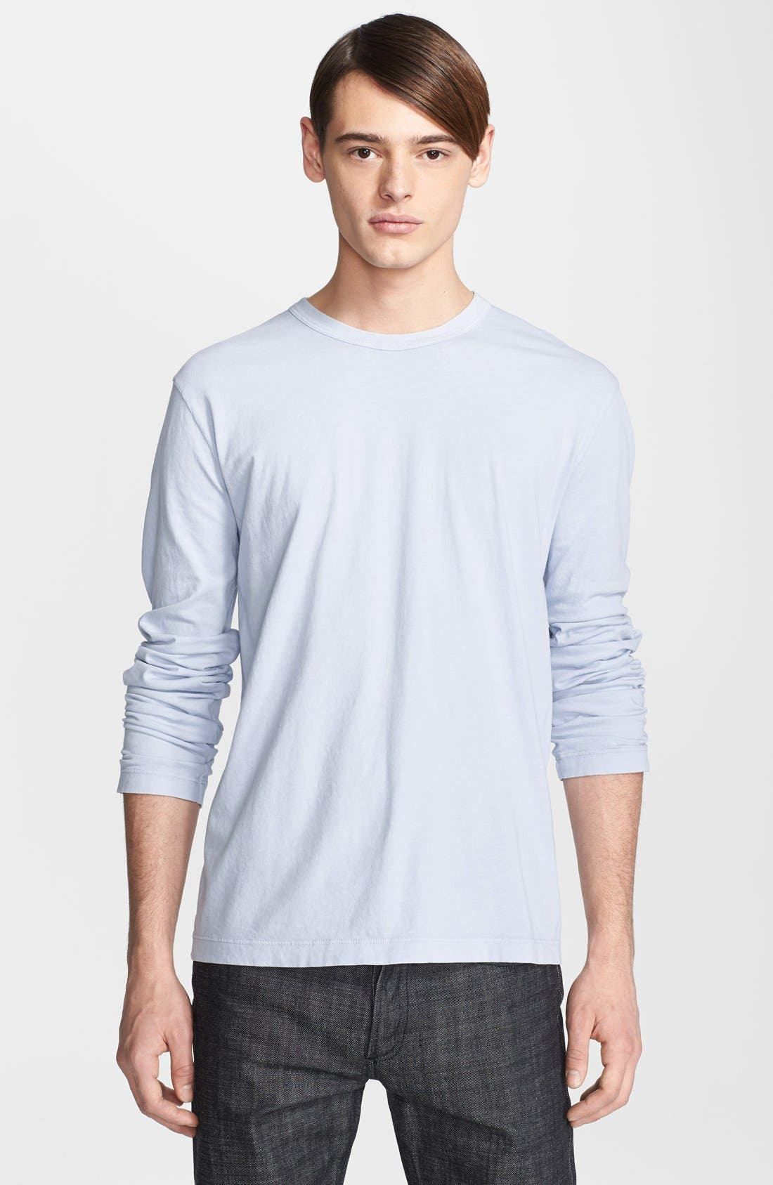 Long Sleeve Crewneck T-Shirt,                             Main thumbnail 8, color,