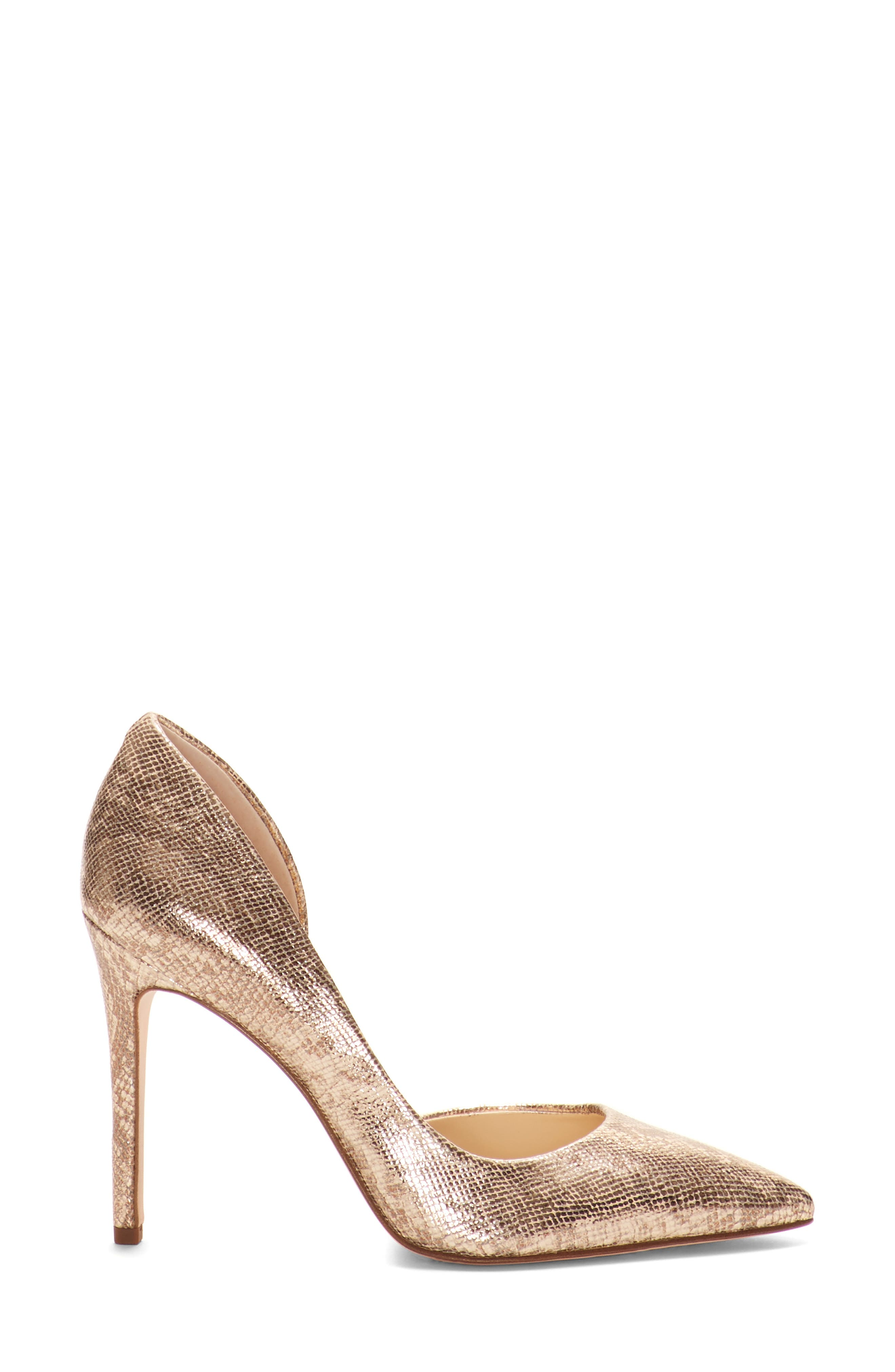 JESSICA SIMPSON,                             Pheona Pump,                             Alternate thumbnail 2, color,                             KARAT GOLD