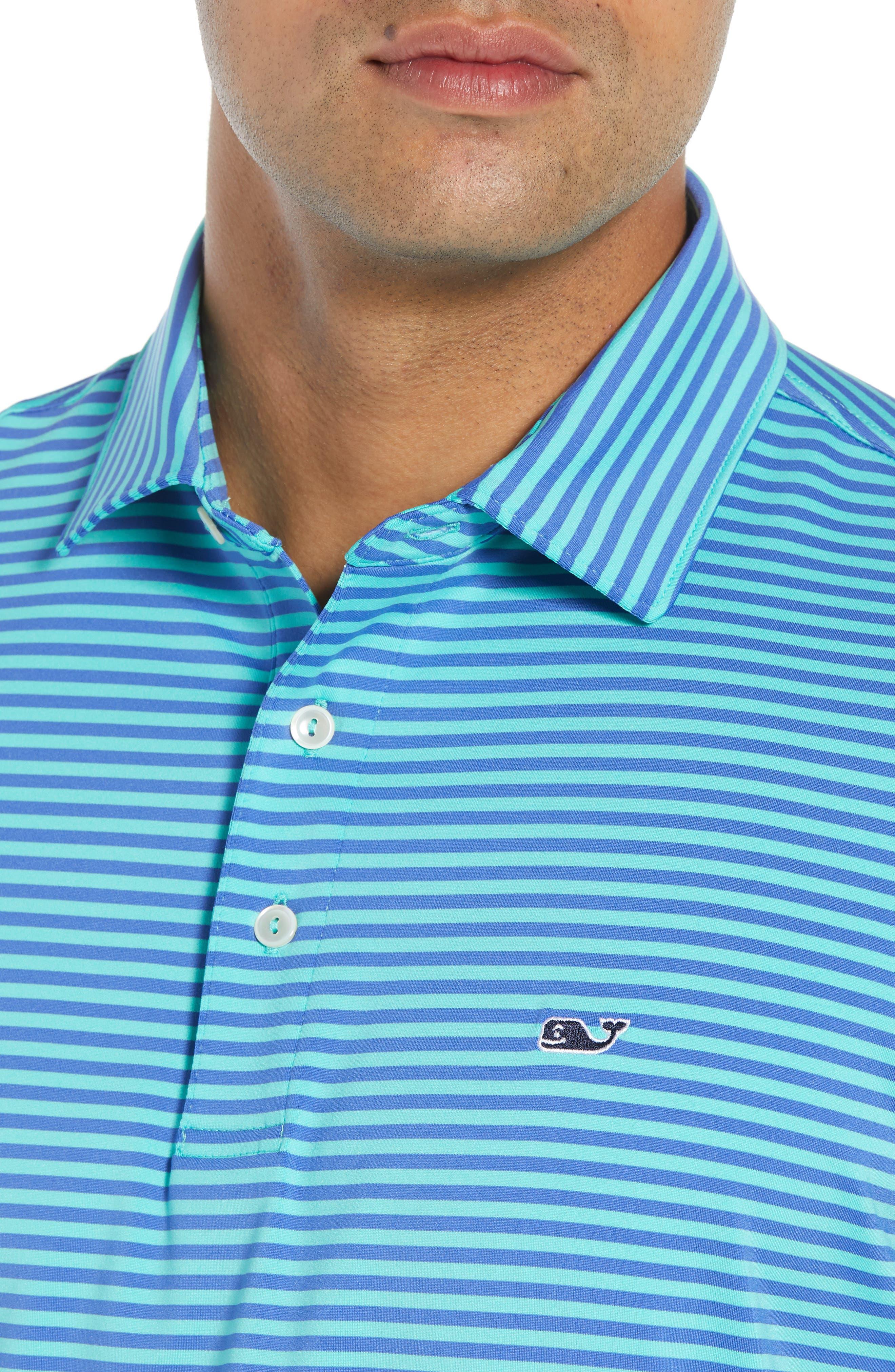 Kennedy Stripe Golf Polo,                             Alternate thumbnail 61, color,