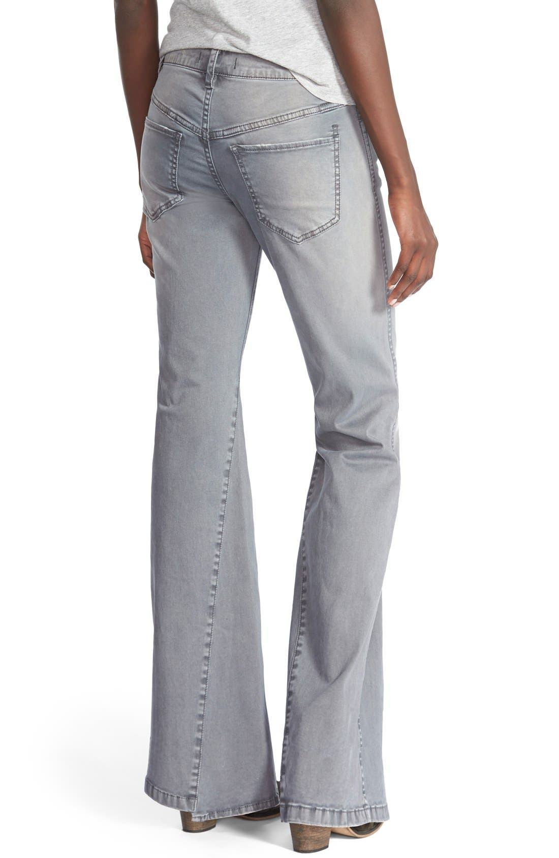 'Gold Coast' Flare Jeans,                             Alternate thumbnail 3, color,                             020