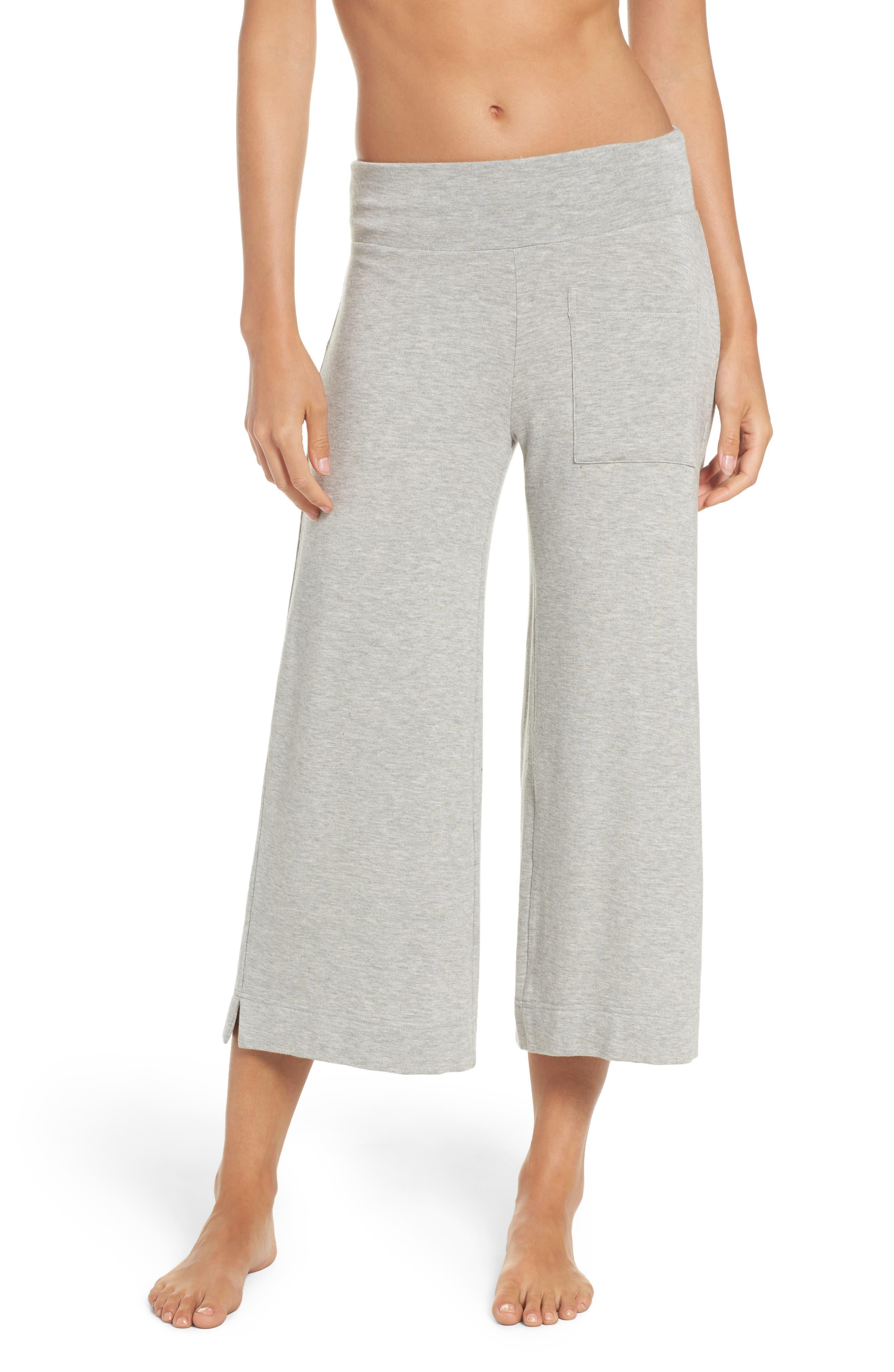 Runway Culotte Sweatpants,                         Main,                         color, 020