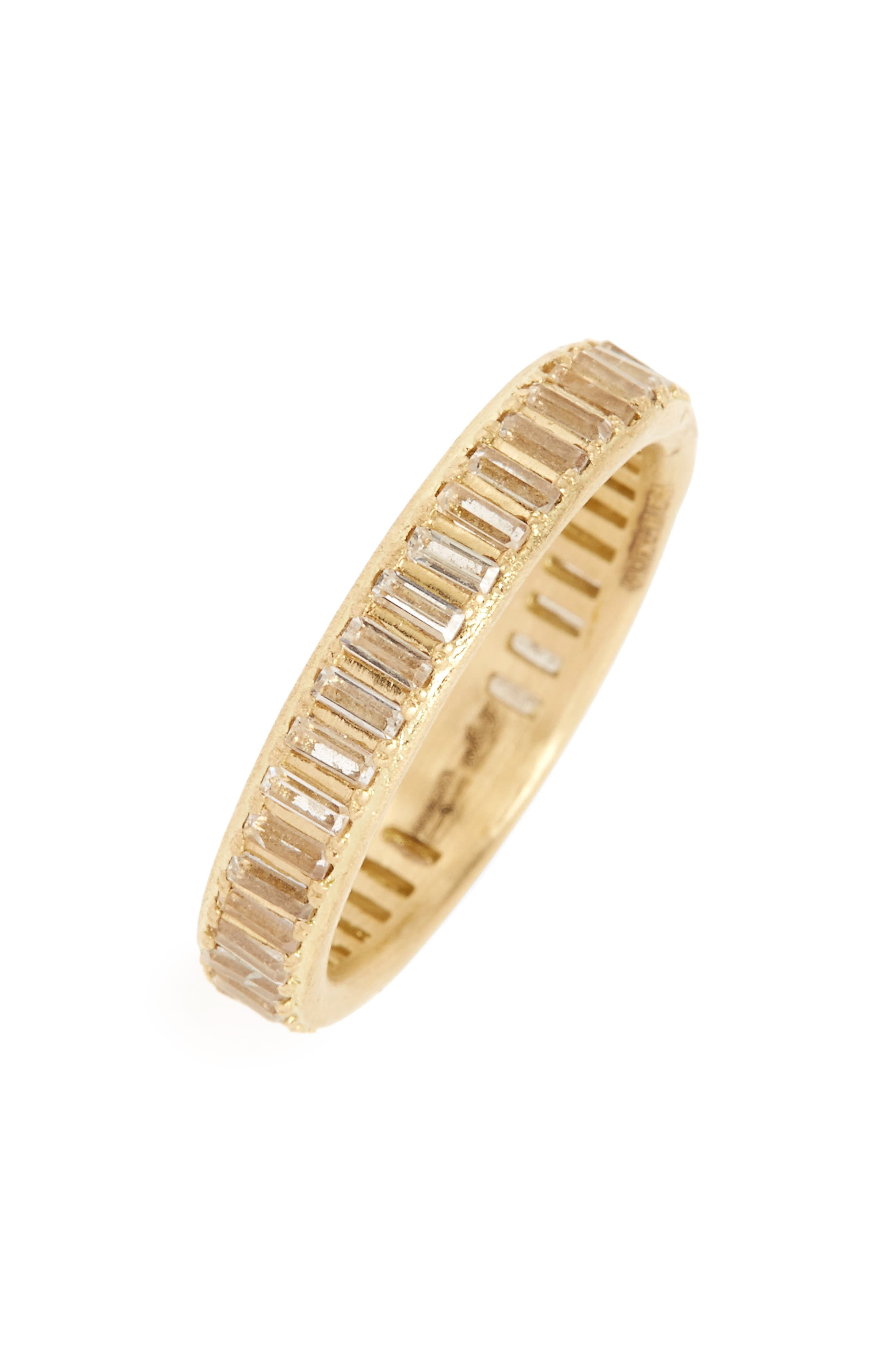 Sueño Sapphire Band Ring,                         Main,                         color, GOLD
