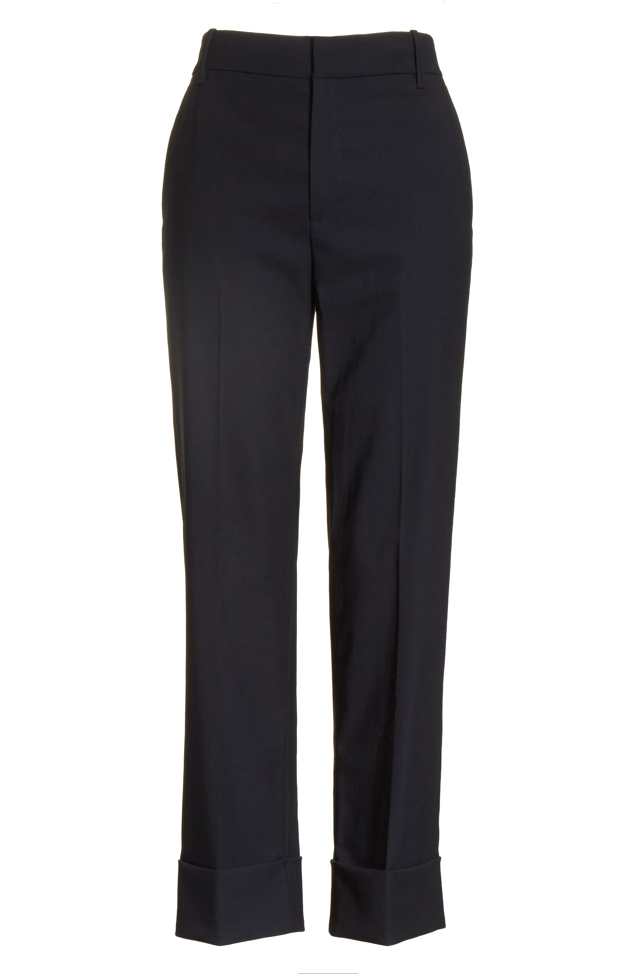 Cuffed Coin Pocket Trousers,                             Alternate thumbnail 12, color,