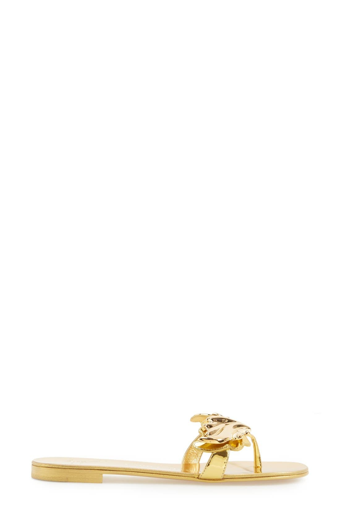 'Coline' Sandal,                             Alternate thumbnail 4, color,                             711