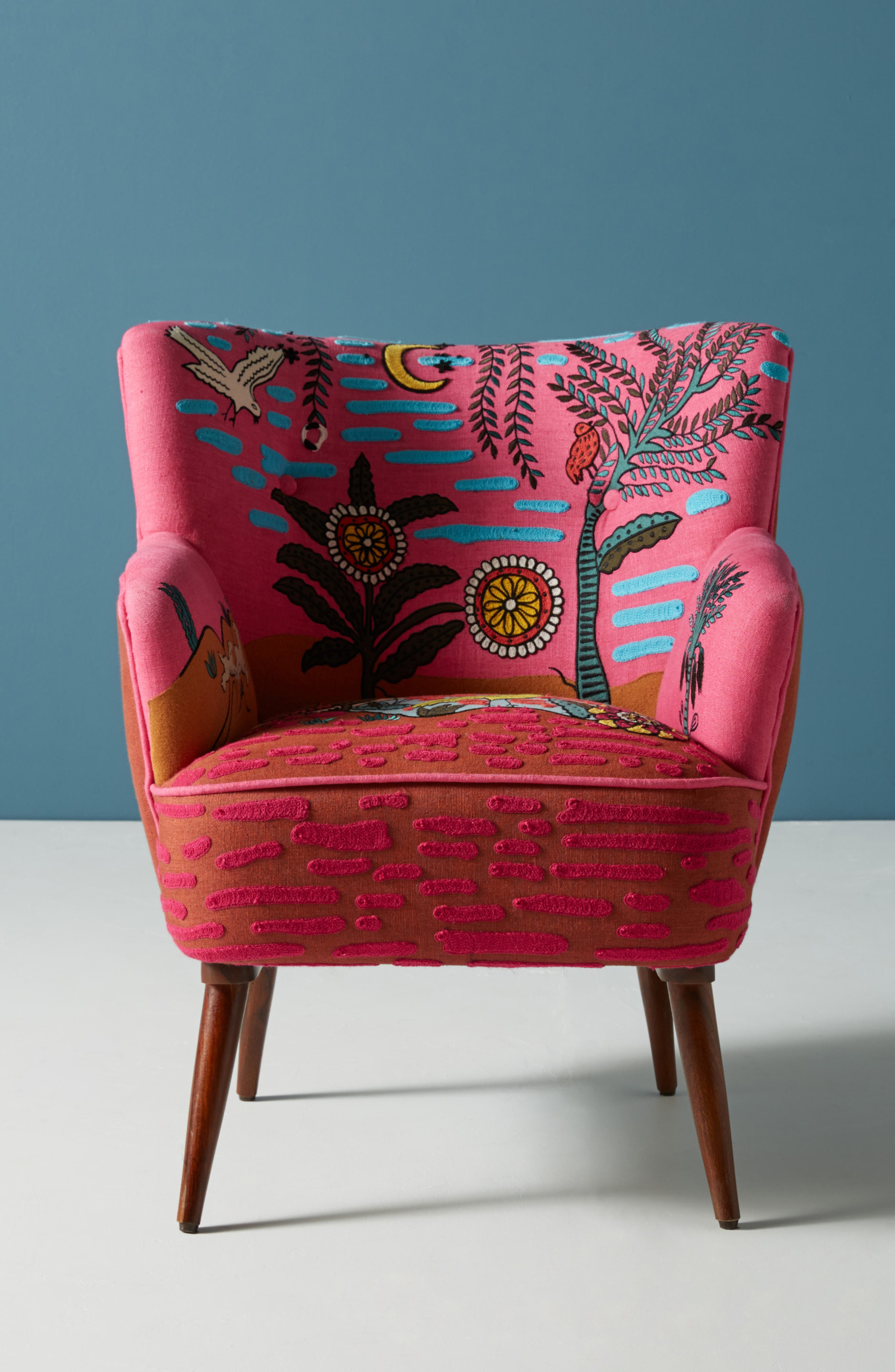 Wayne Occasional Chair,                             Alternate thumbnail 7, color,                             PINK