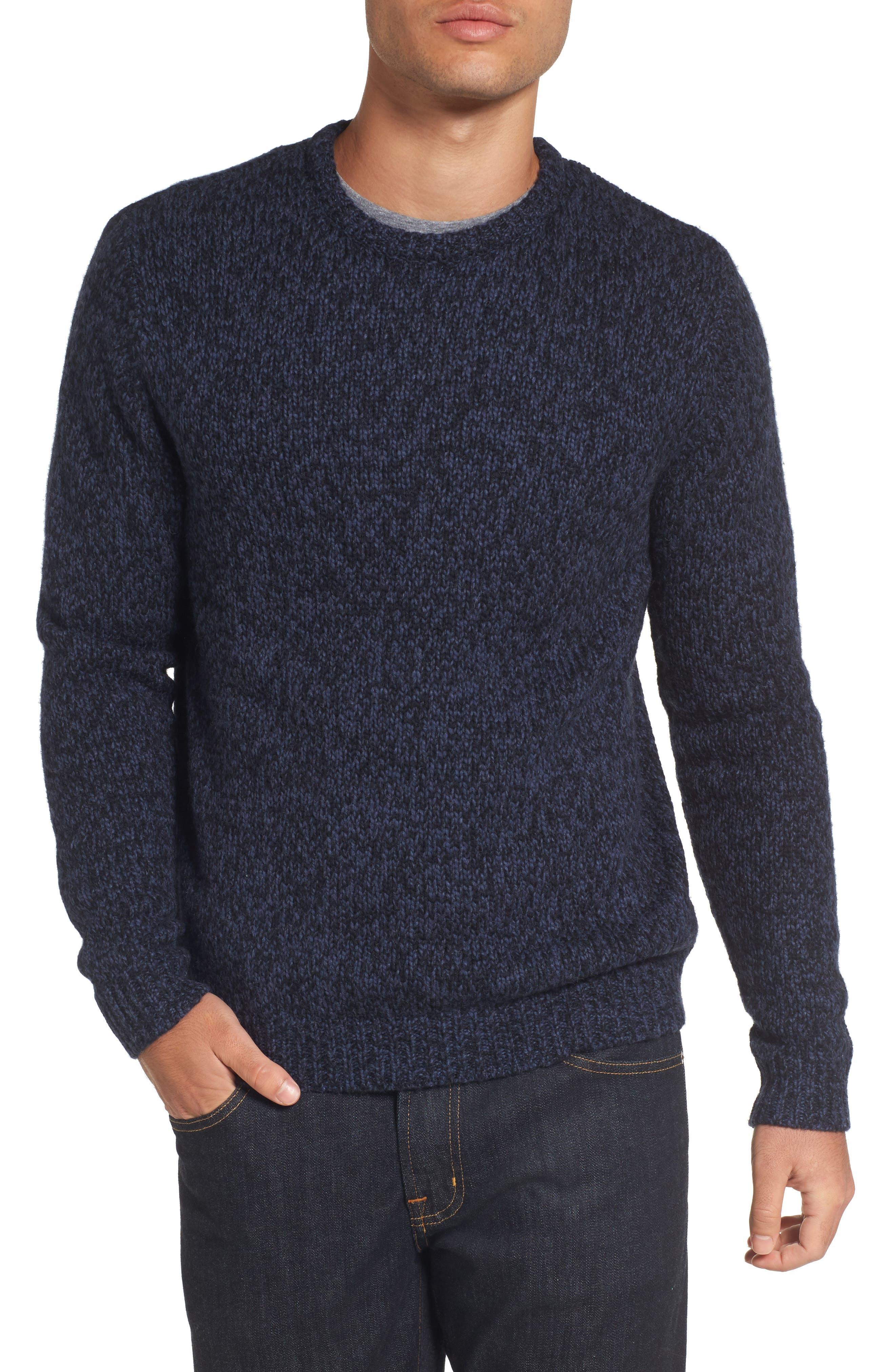 Marled Yarn Sweater,                             Main thumbnail 2, color,