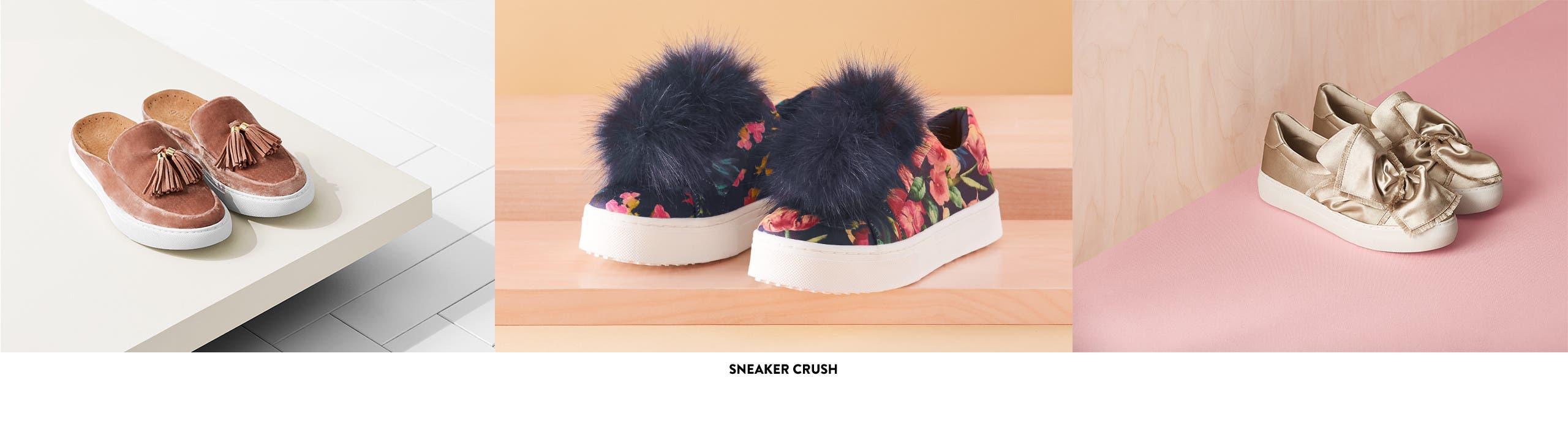 Sneaker crush.