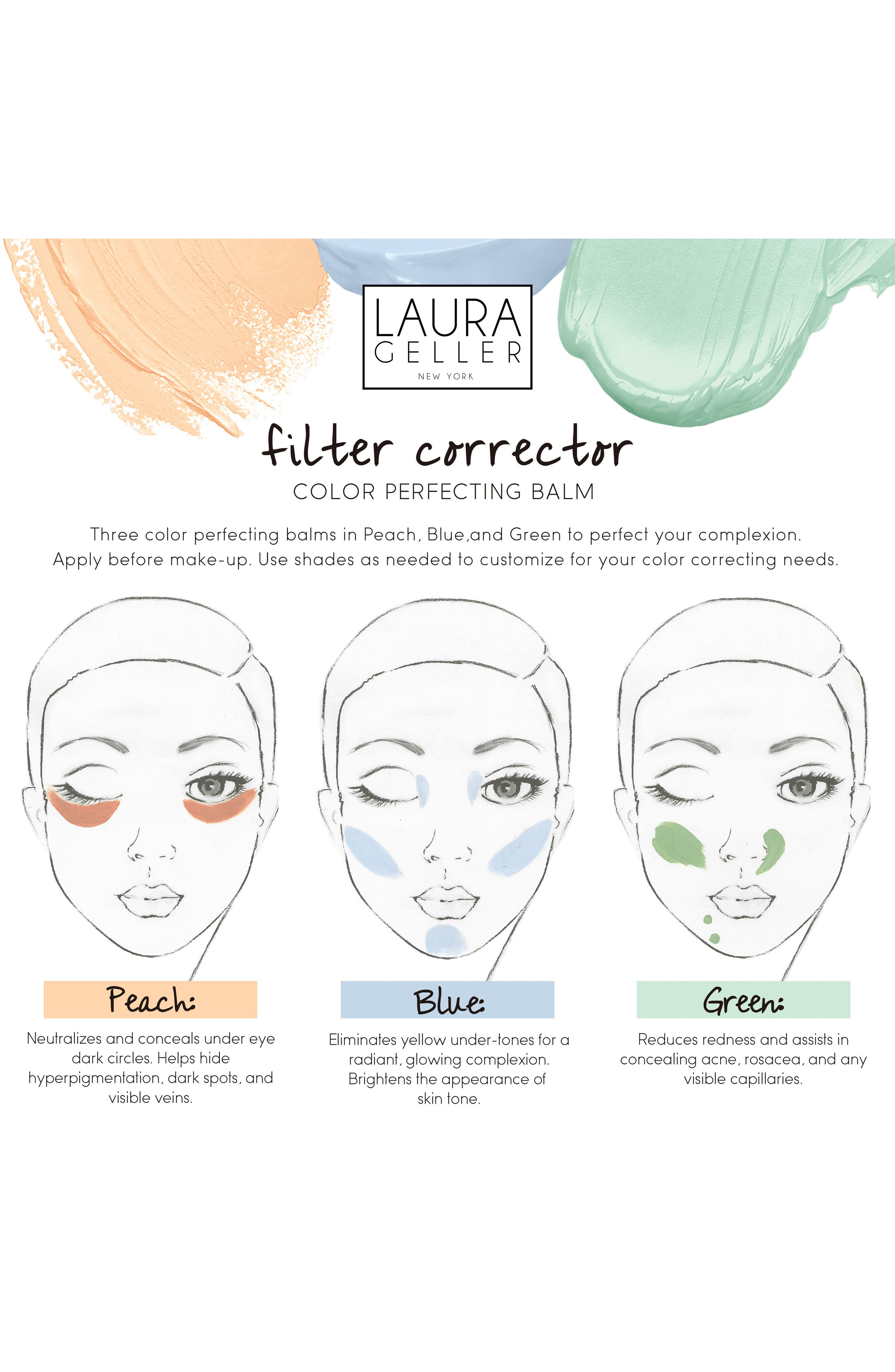 Filter Corrector Color Perfecting Balm,                             Alternate thumbnail 4, color,                             000