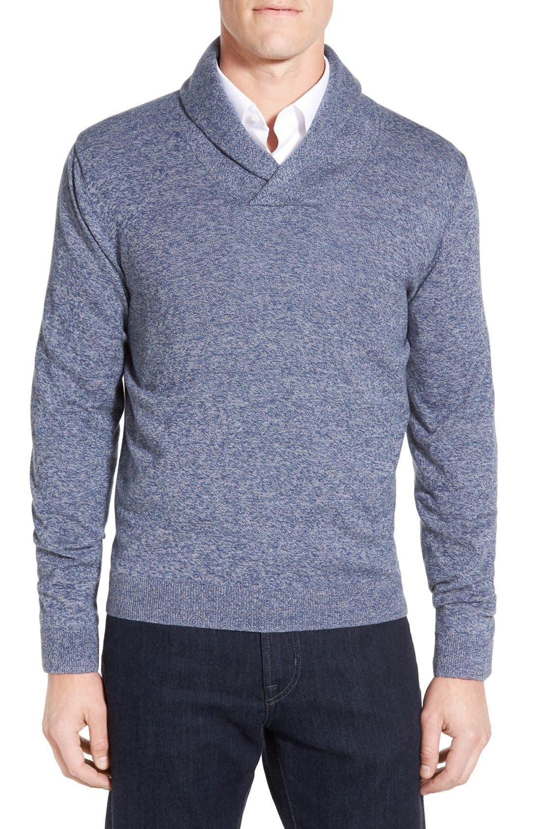 Men's Shop Shawl Collar Sweater,                             Main thumbnail 5, color,