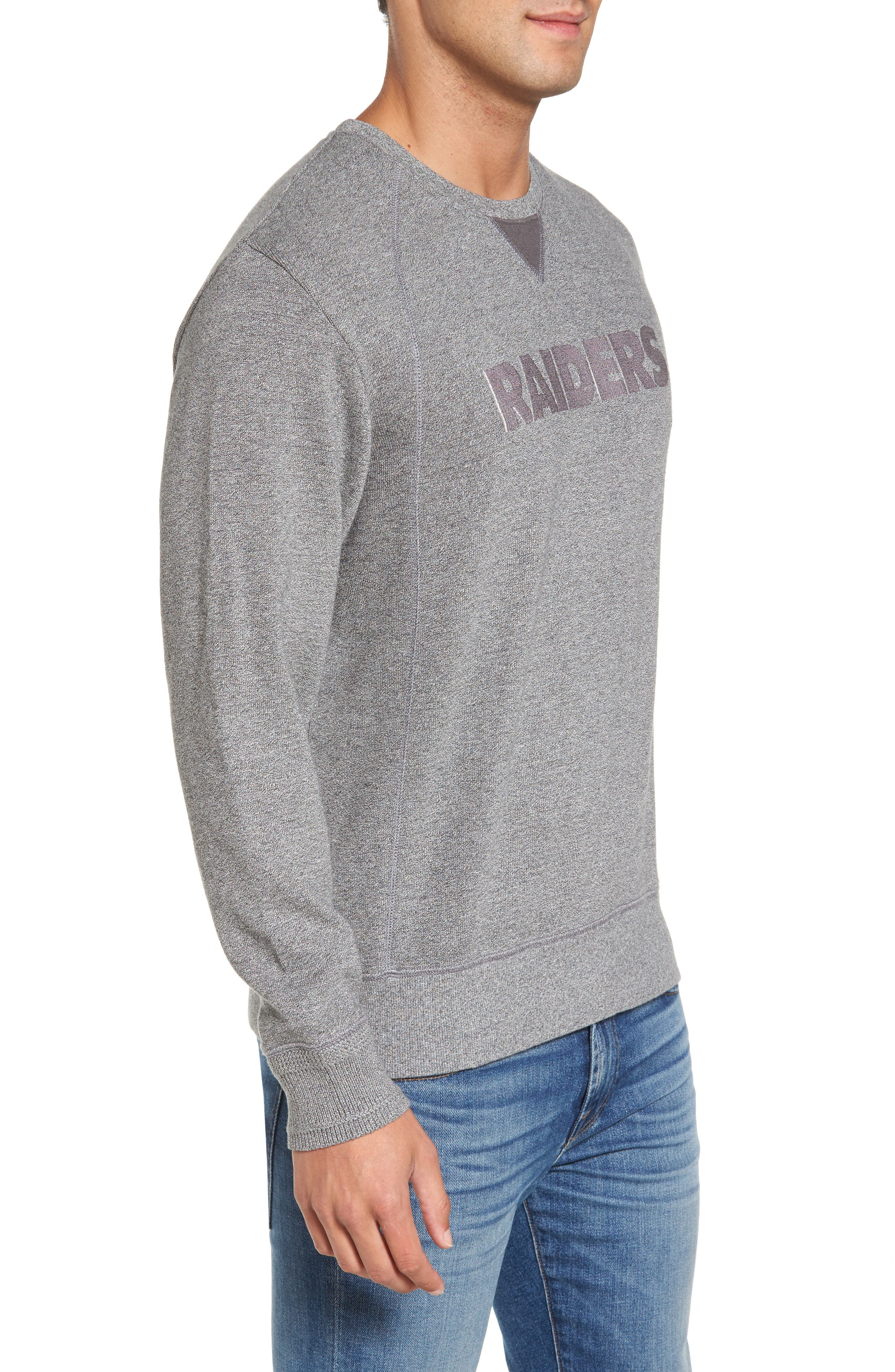 NFL Stitch of Liberty Embroidered Crewneck Sweatshirt,                             Alternate thumbnail 85, color,