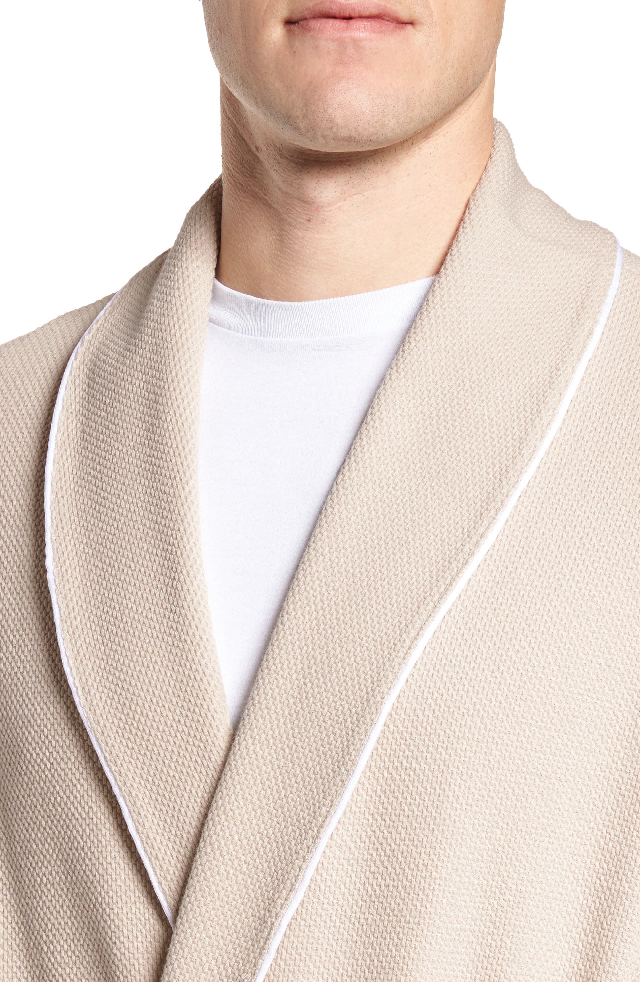 Belize Cotton Blend Robe,                             Alternate thumbnail 4, color,                             902