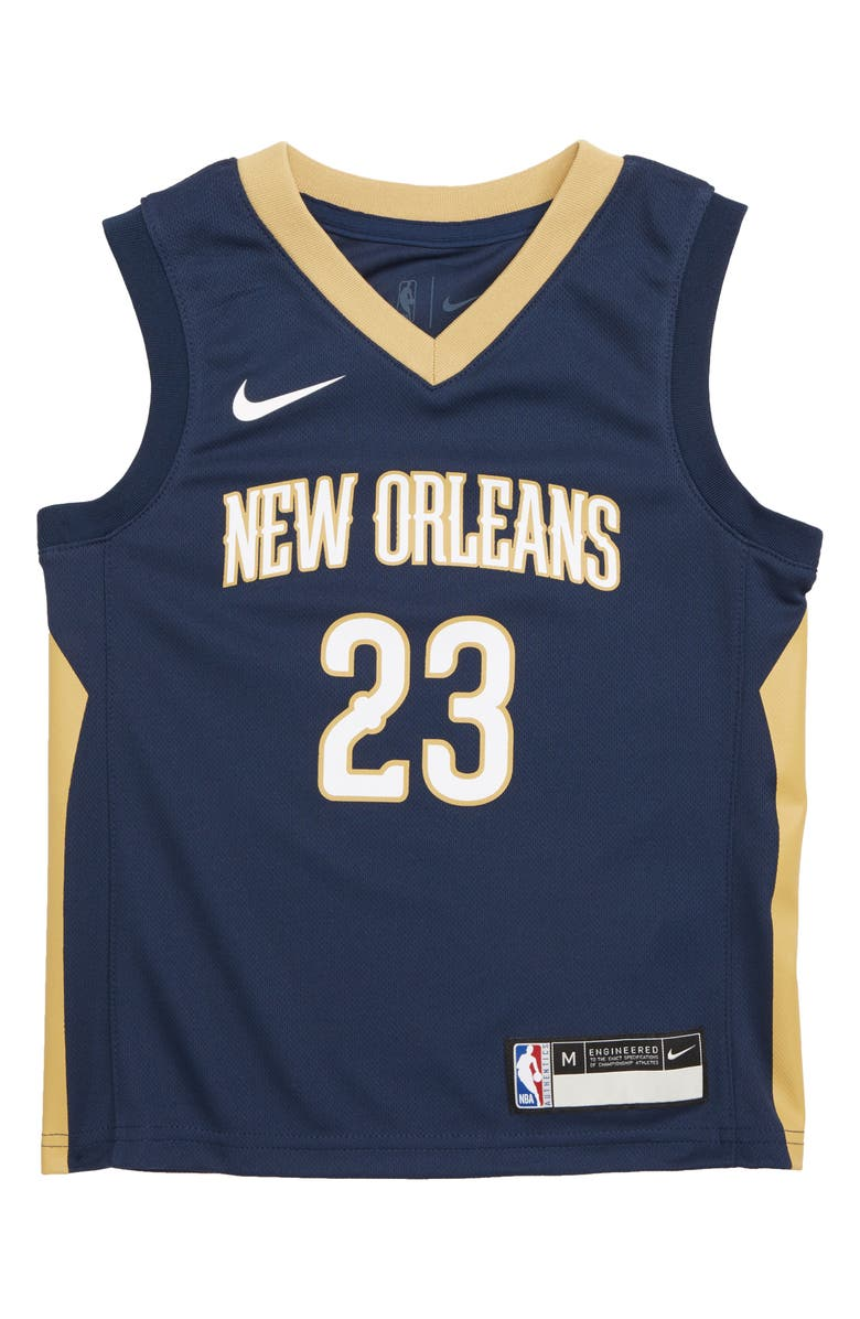 01d5a8a06 Nike New Orleans Pelicans Anthony Davis Basketball Jersey (Toddler ...