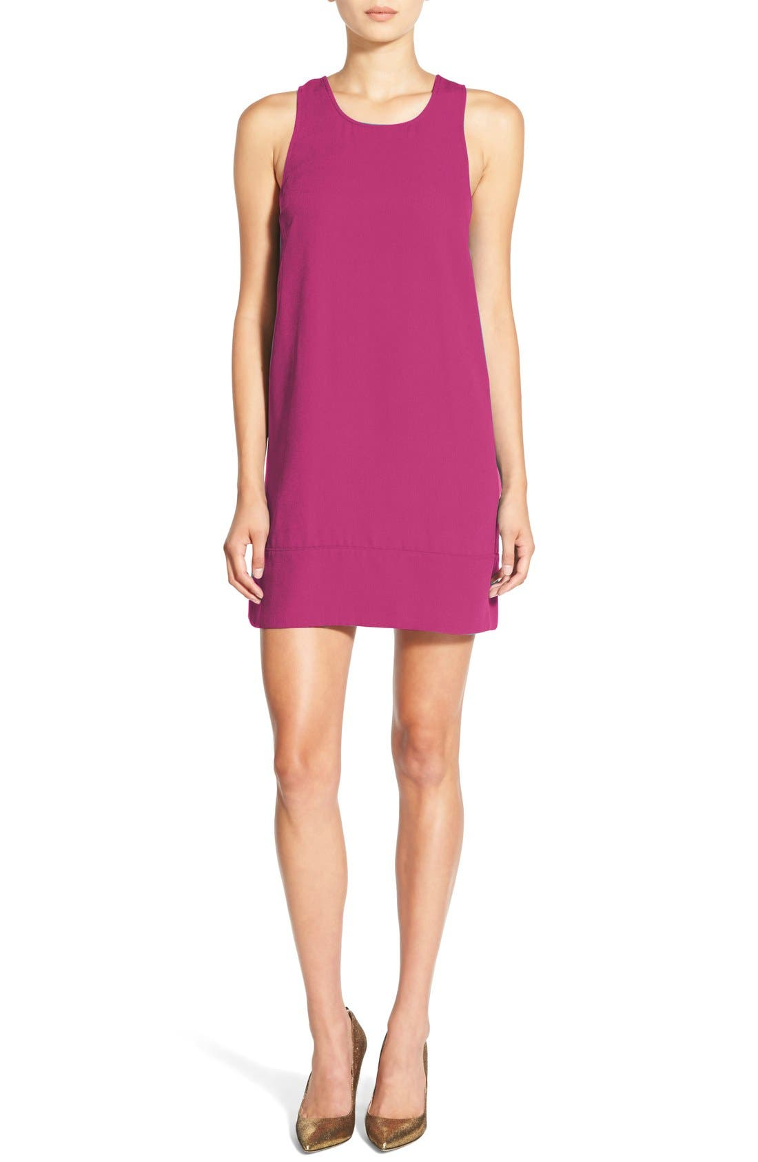 Racerback Shift Dress,                             Main thumbnail 33, color,