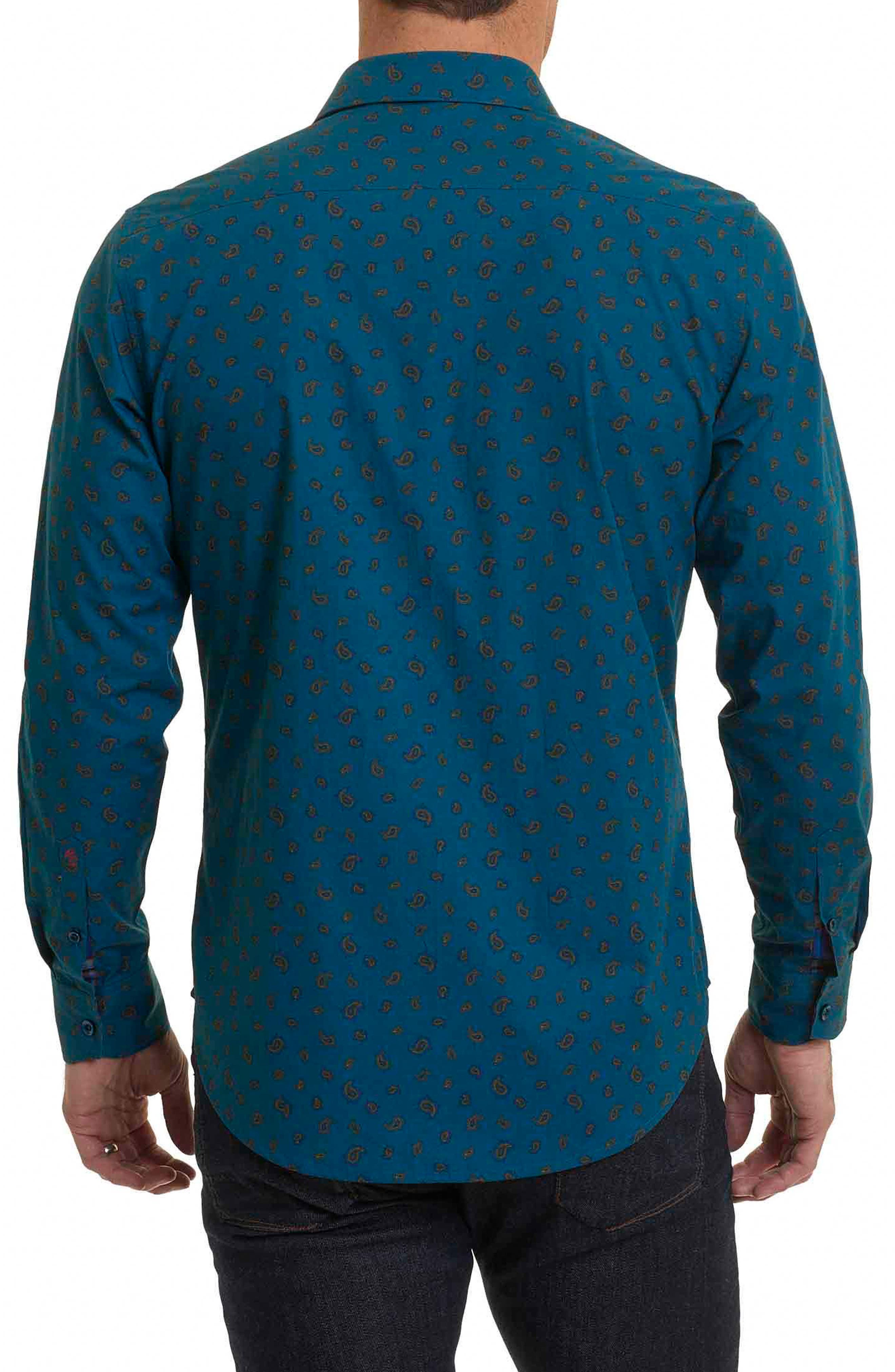 Cold Spring Classic Fit Paisley Sport Shirt,                             Alternate thumbnail 2, color,                             463