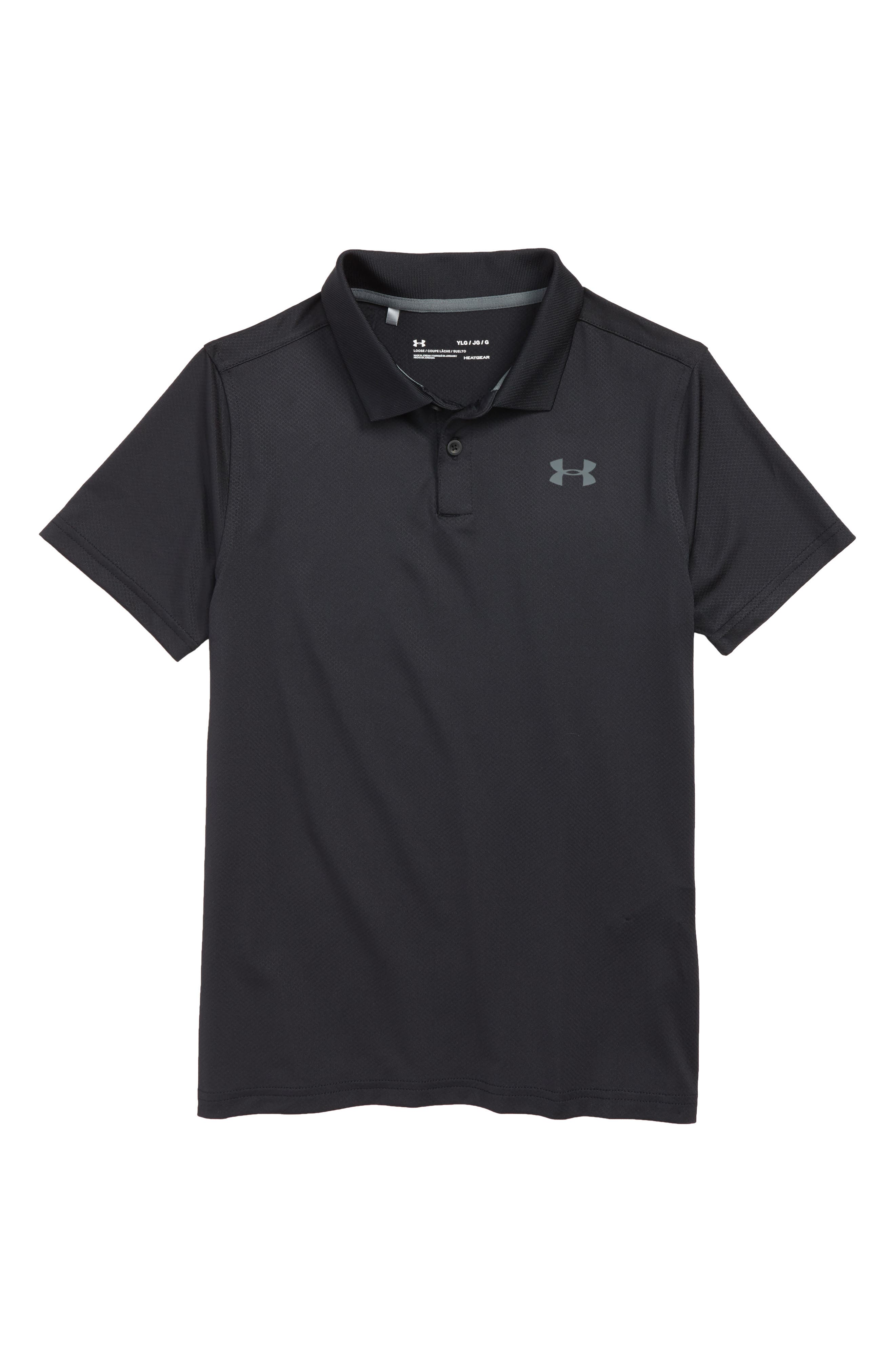Boys Under Armour Heatgear Performance Polo