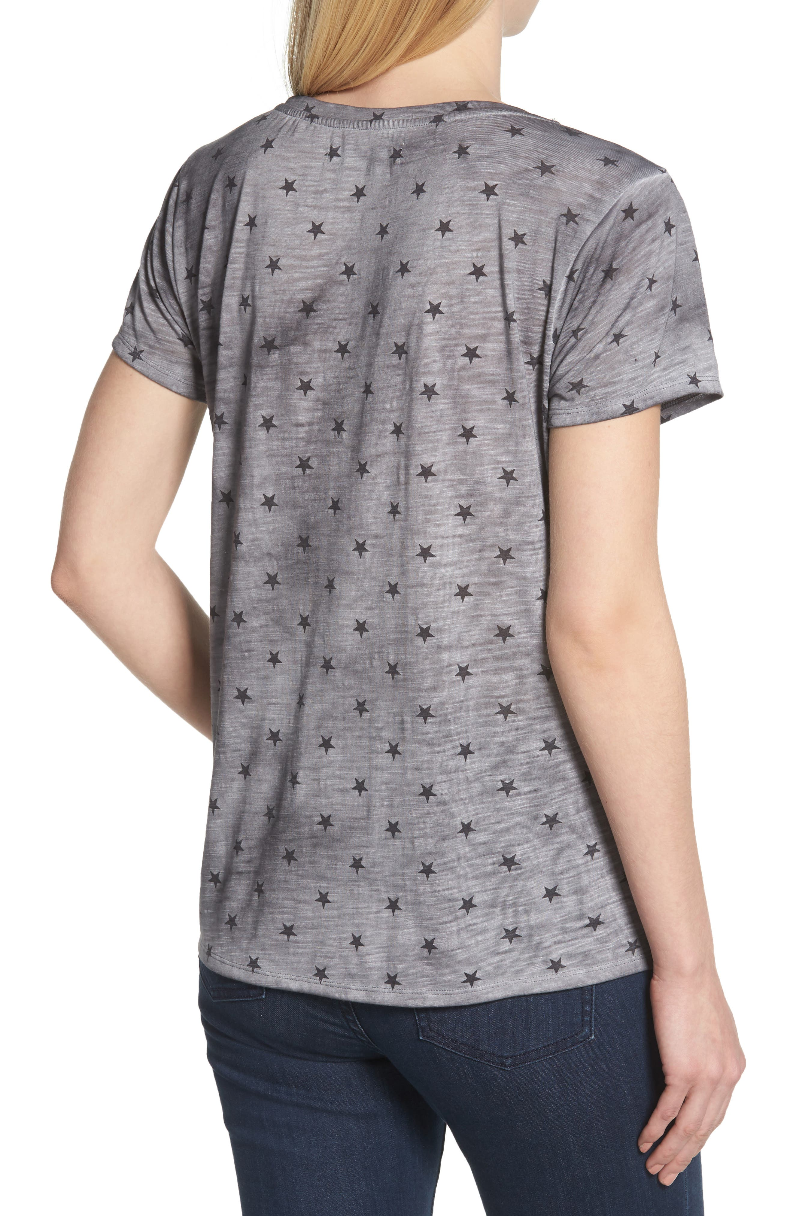 Star Tee,                             Alternate thumbnail 2, color,                             GREY