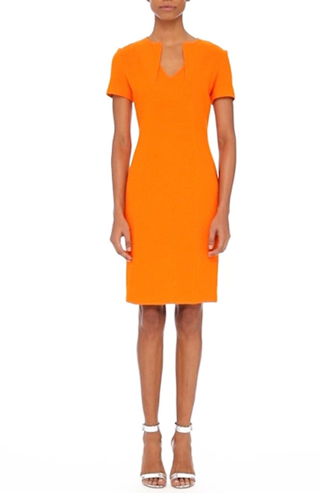 Ribbon Texture Knit Dress,                             Alternate thumbnail 8, color,                             820
