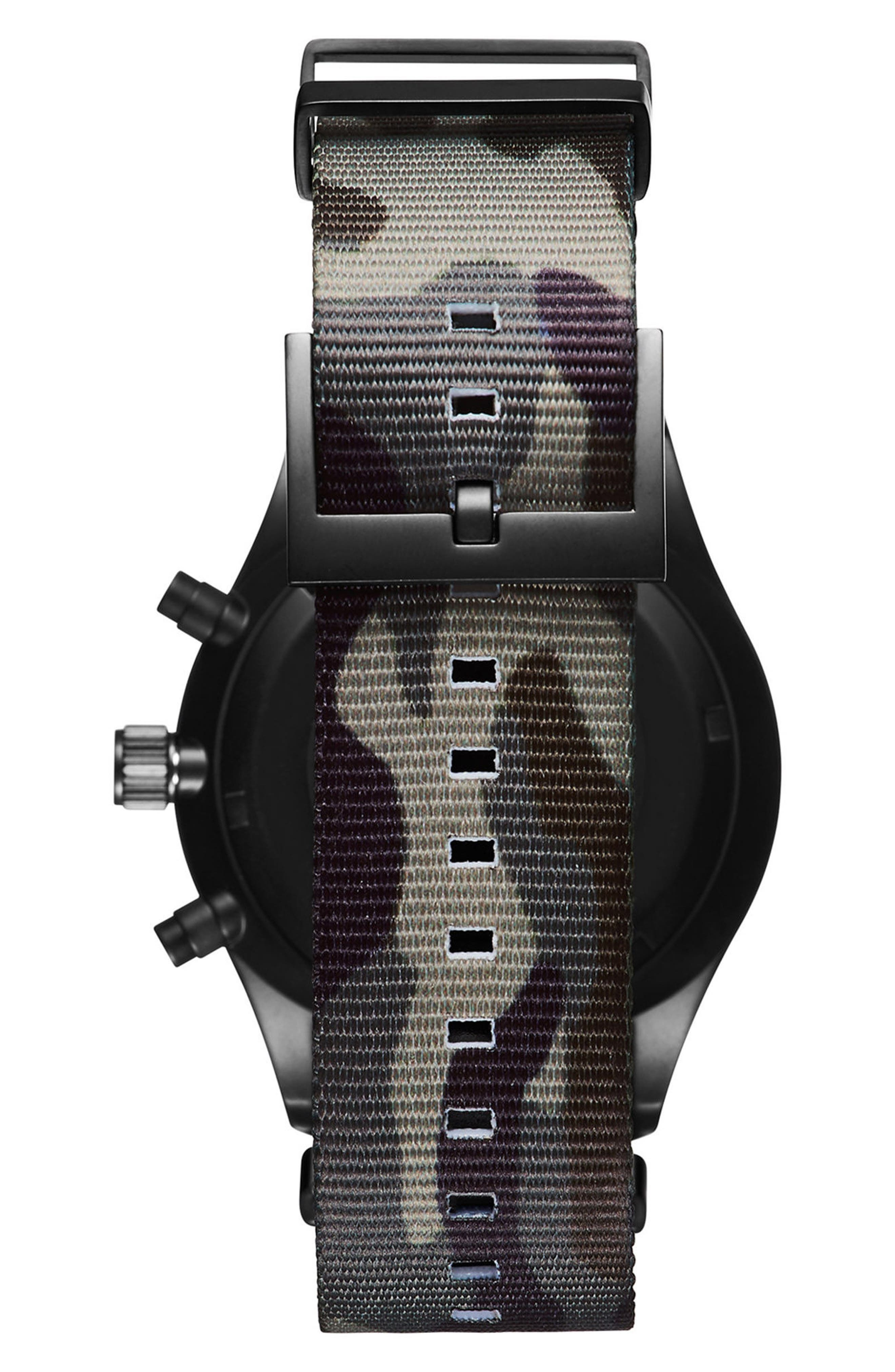 Voyager Chronograph NATO Strap Watch, 42mm,                             Alternate thumbnail 2, color,                             300