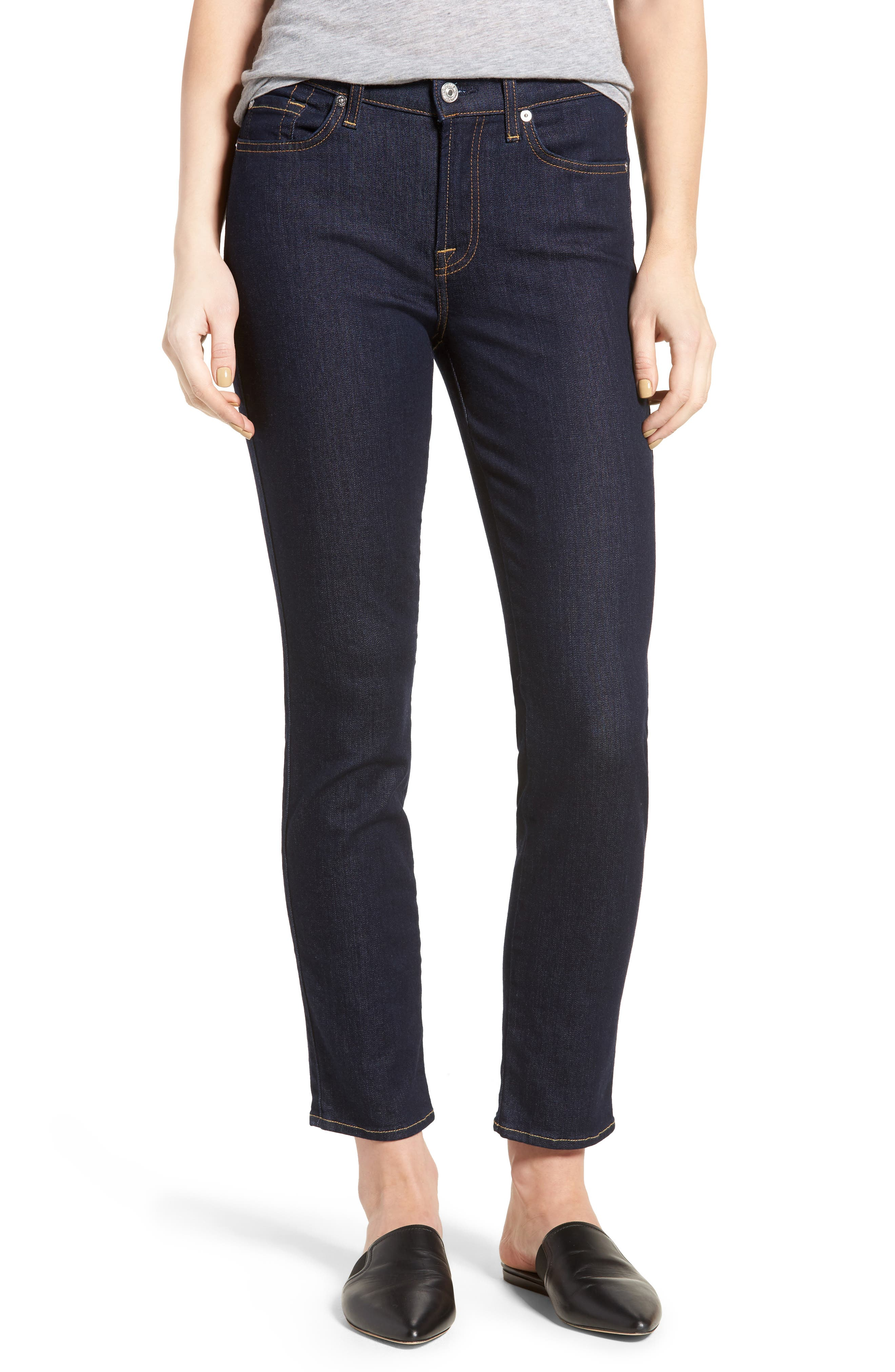 b(air) Roxanne Ankle Skinny Jeans,                         Main,                         color, 401