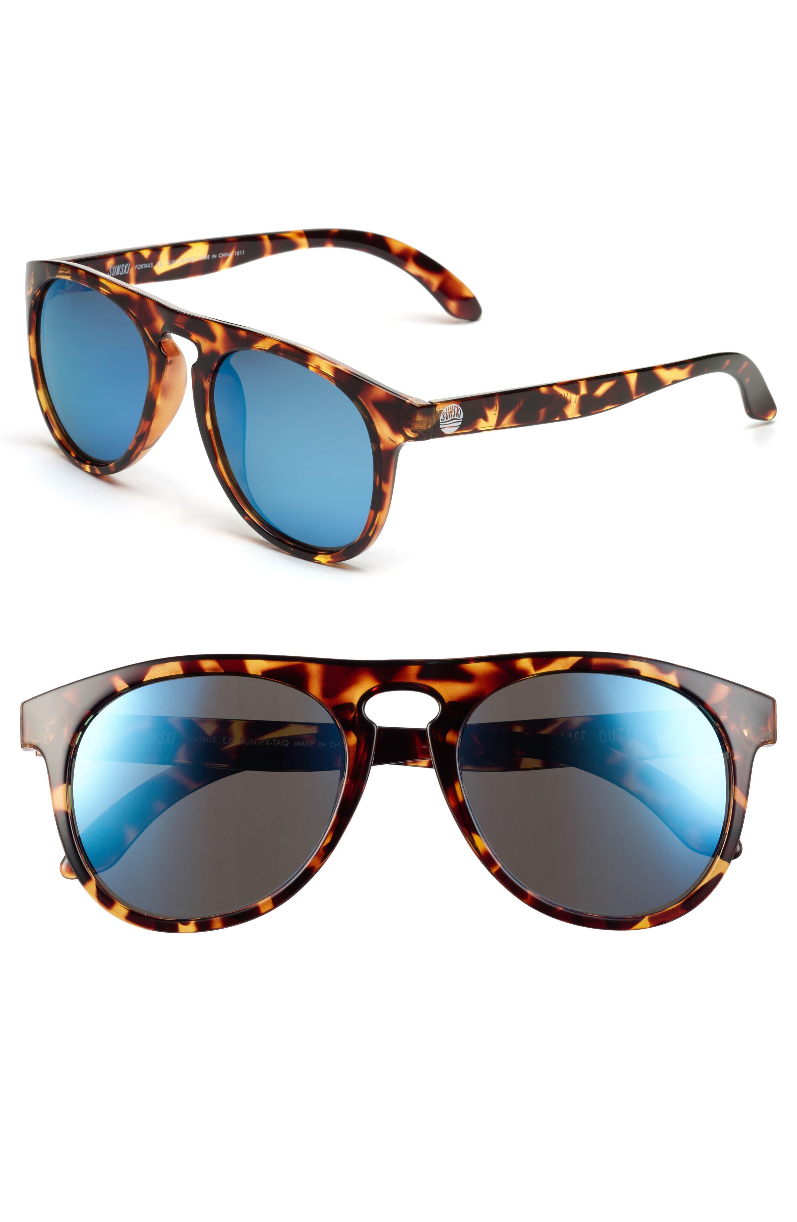 Foxtail 51mm Polarized Sunglasses,                             Main thumbnail 2, color,