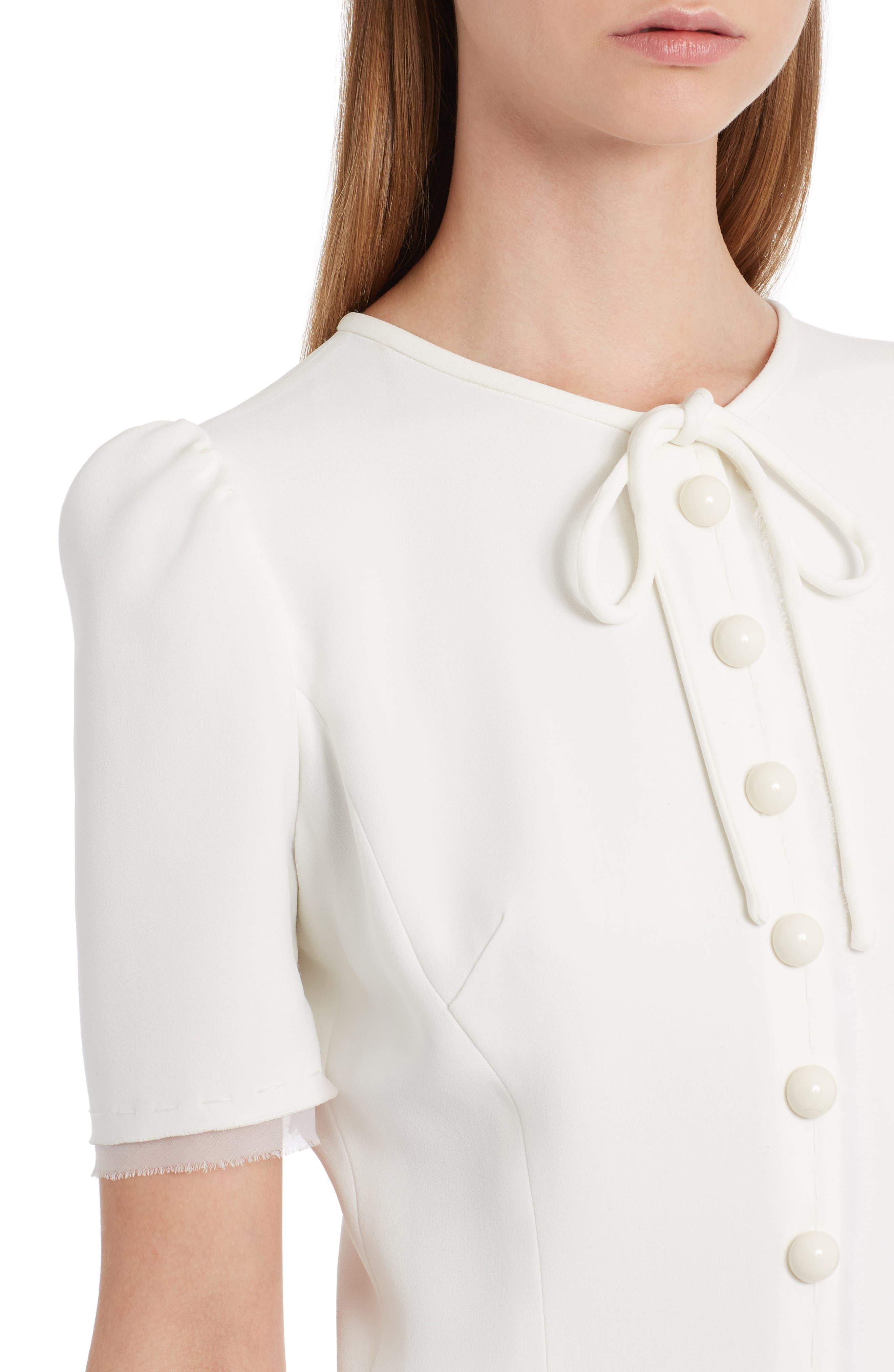 Button Midi Dress,                             Alternate thumbnail 4, color,                             115