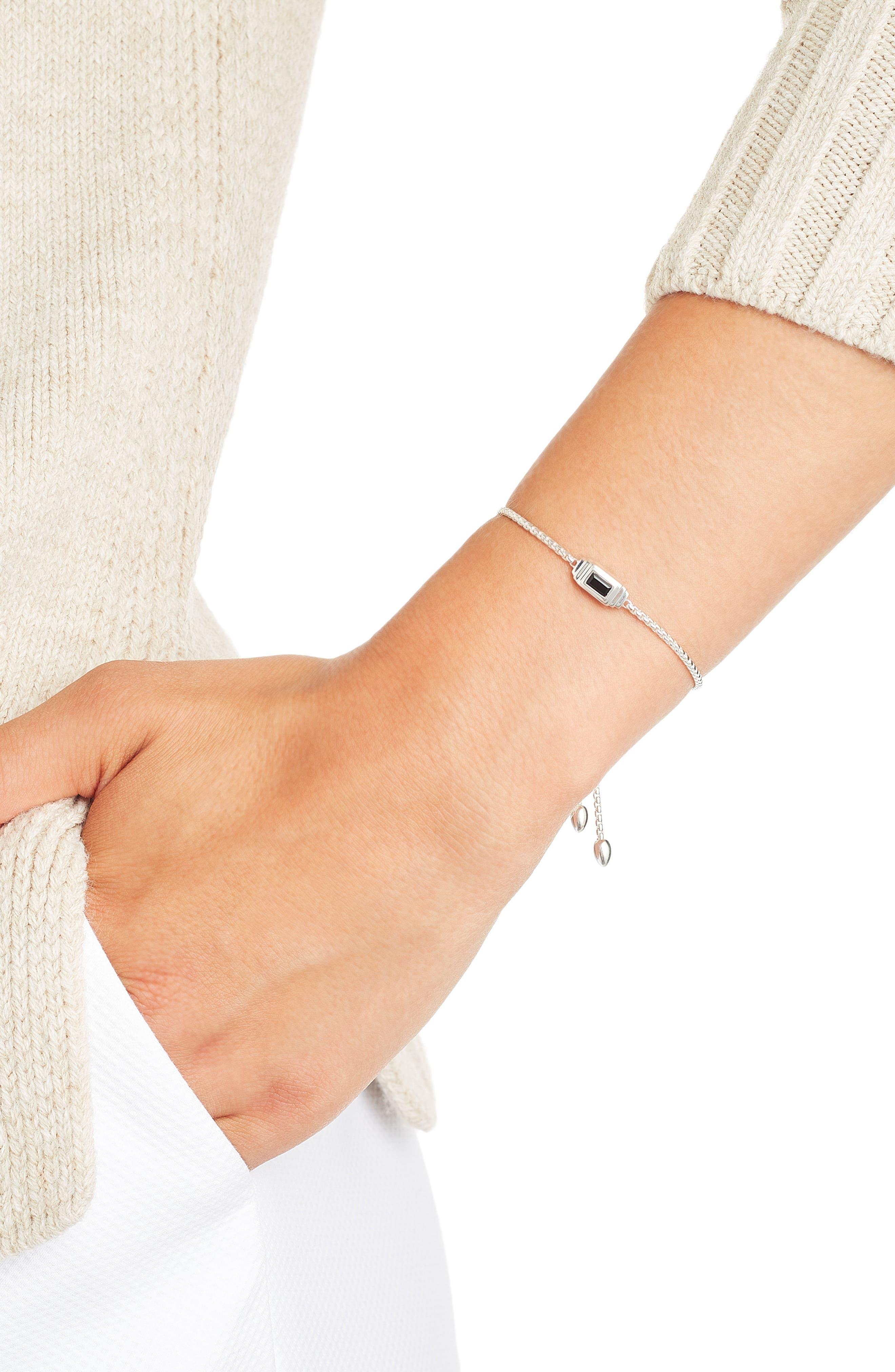 Baja Deco Stone Bracelet,                             Main thumbnail 1, color,                             002