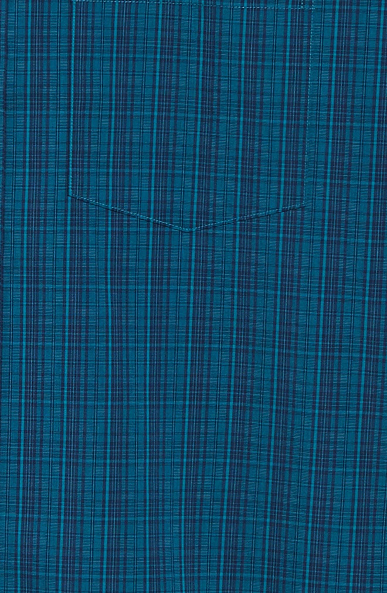Logan Regular Fit Non-Iron Sport Shirt,                             Alternate thumbnail 6, color,                             AQUATIC