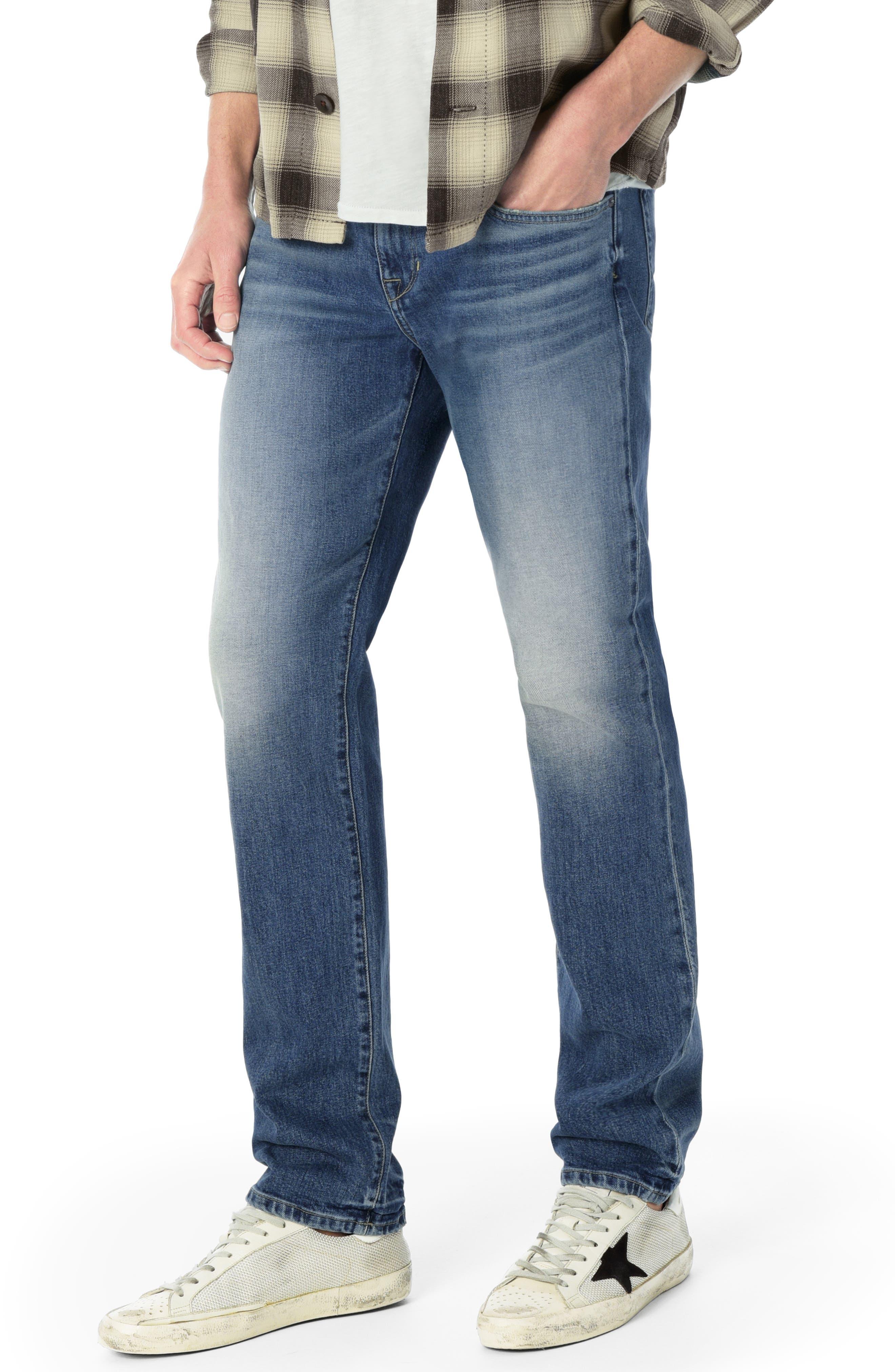 Brixton Slim Straight Leg Jeans,                             Main thumbnail 1, color,                             HARPO