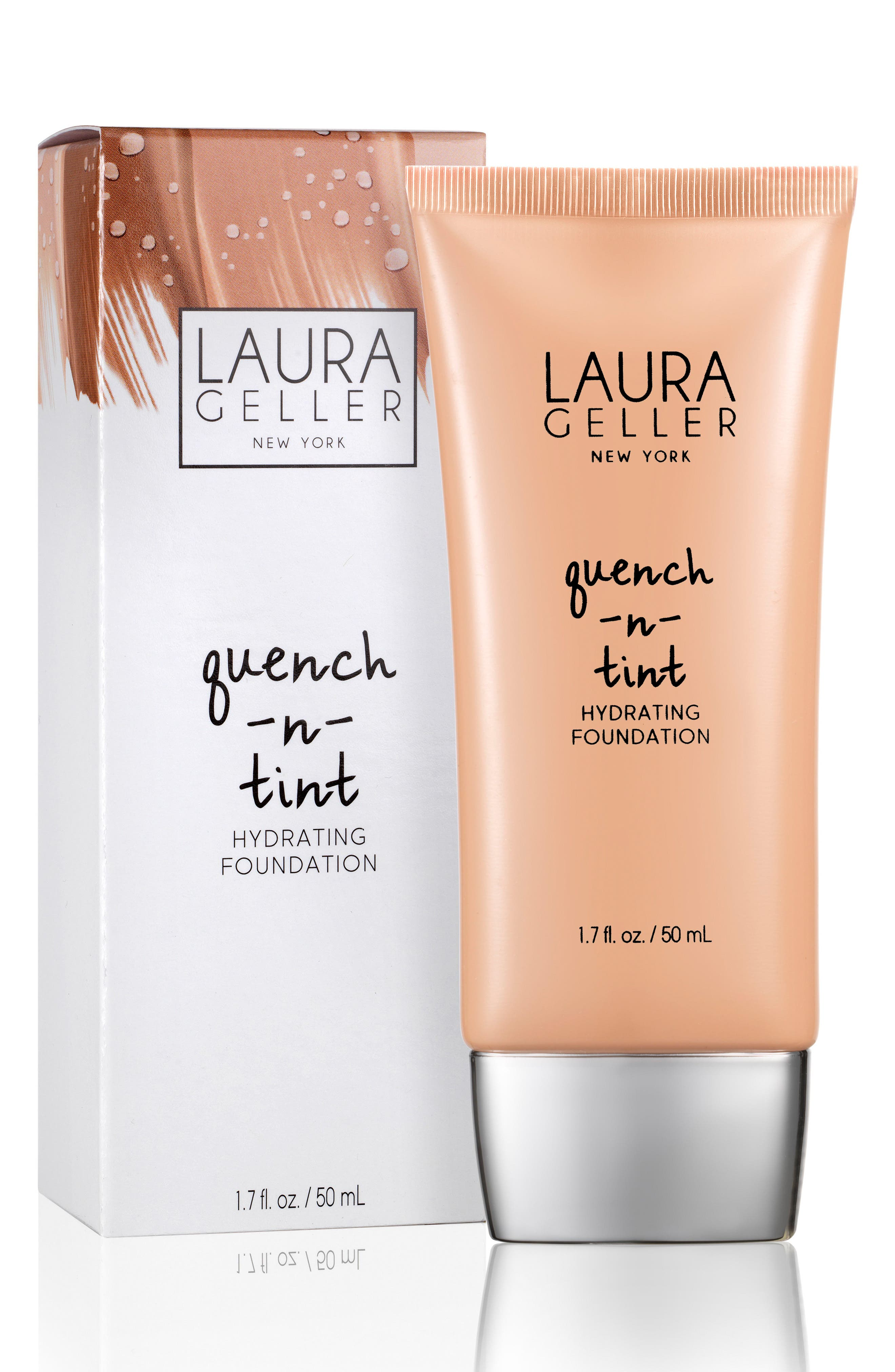 Quench-n-Tint Hydrating Foundation,                             Alternate thumbnail 3, color,                             LIGHT