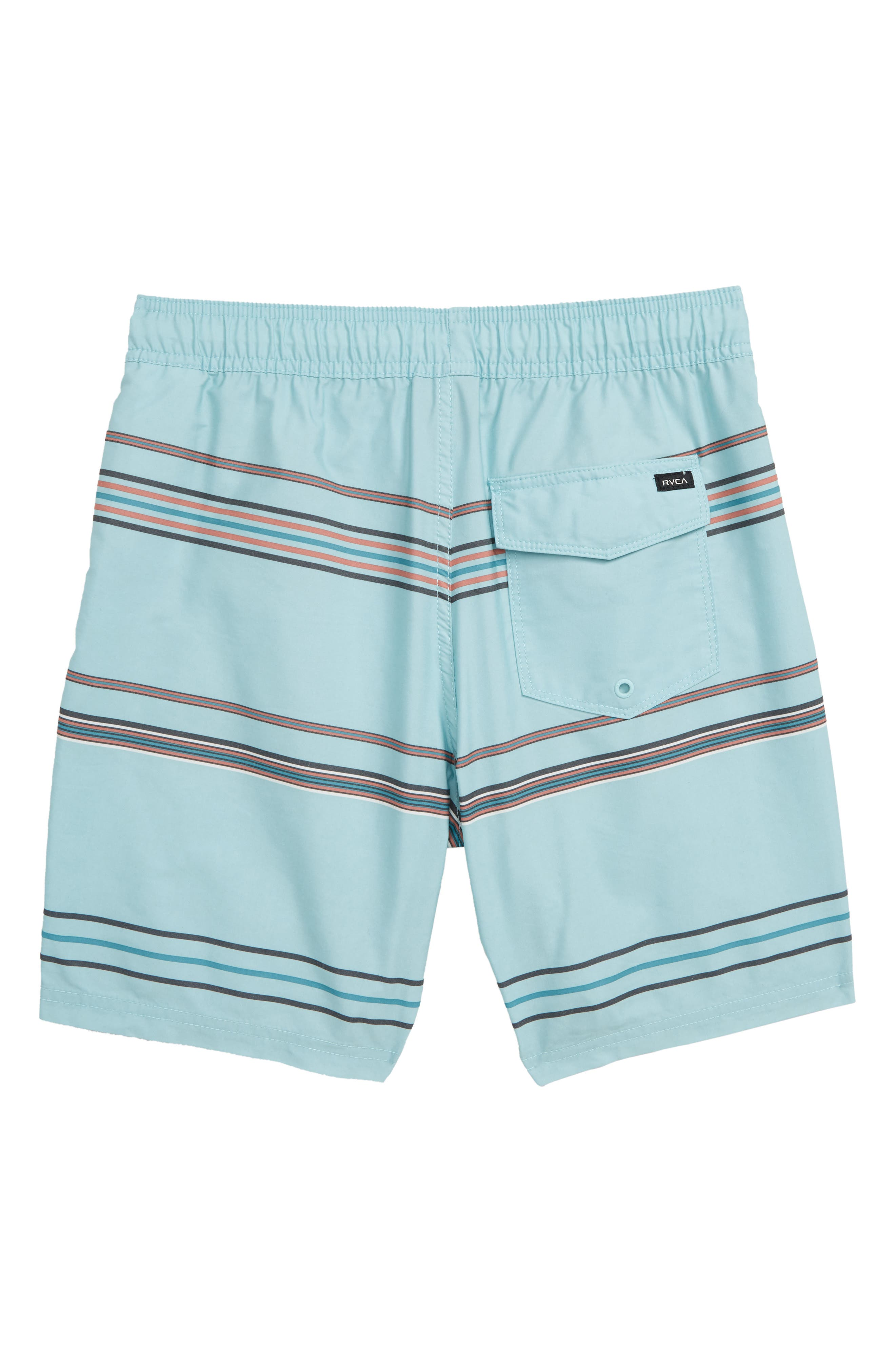 RVCA,                             Shattered Board Shorts,                             Alternate thumbnail 2, color,                             ETHER BLUE