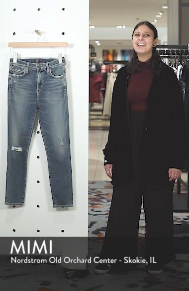 Rocket High Waist Crop Skinny Jeans, sales video thumbnail