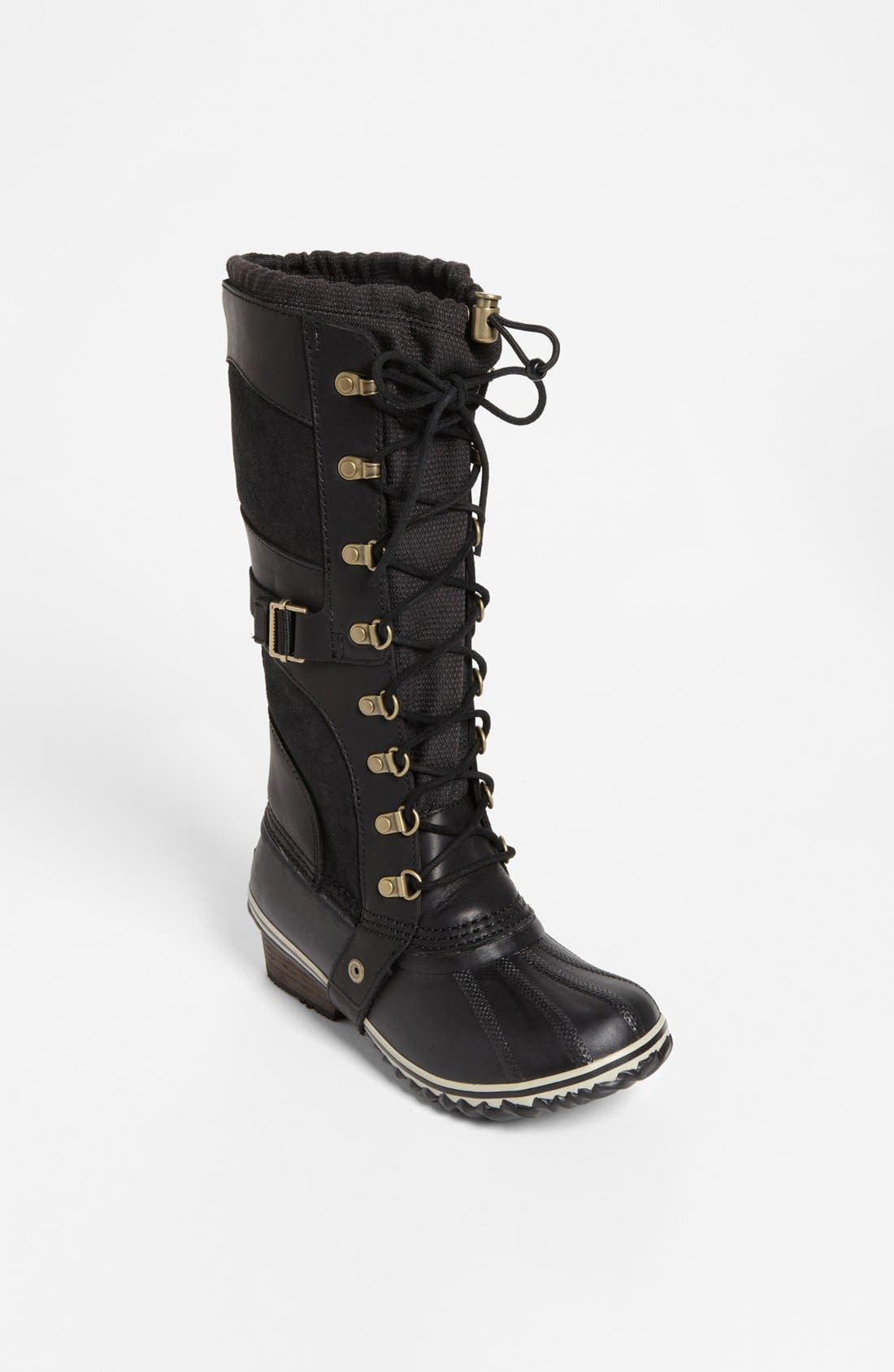 'Conquest Carly' Boot,                         Main,                         color, 010