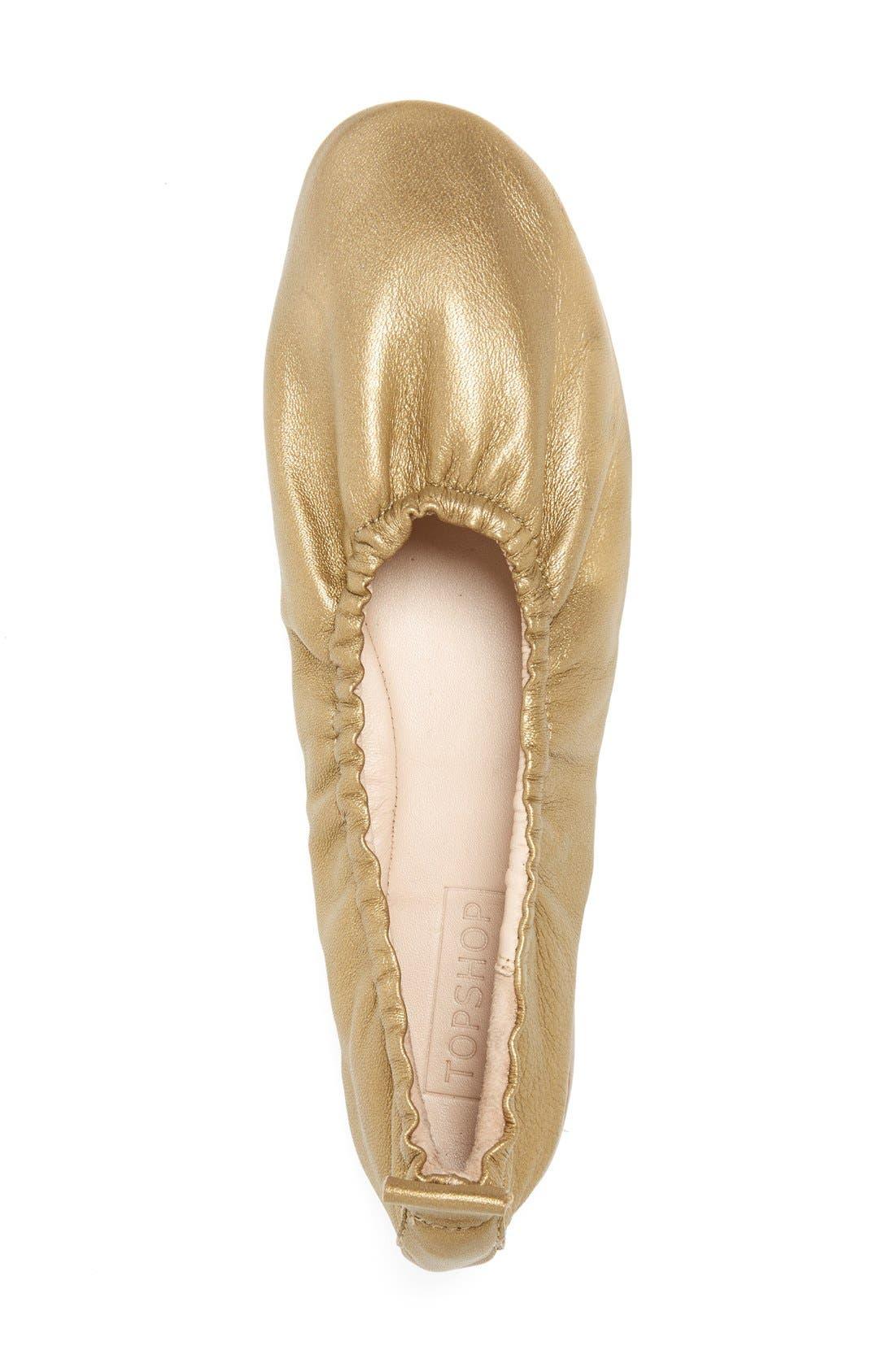 'Kat' High Vamp Ballet Flats,                             Alternate thumbnail 3, color,                             710