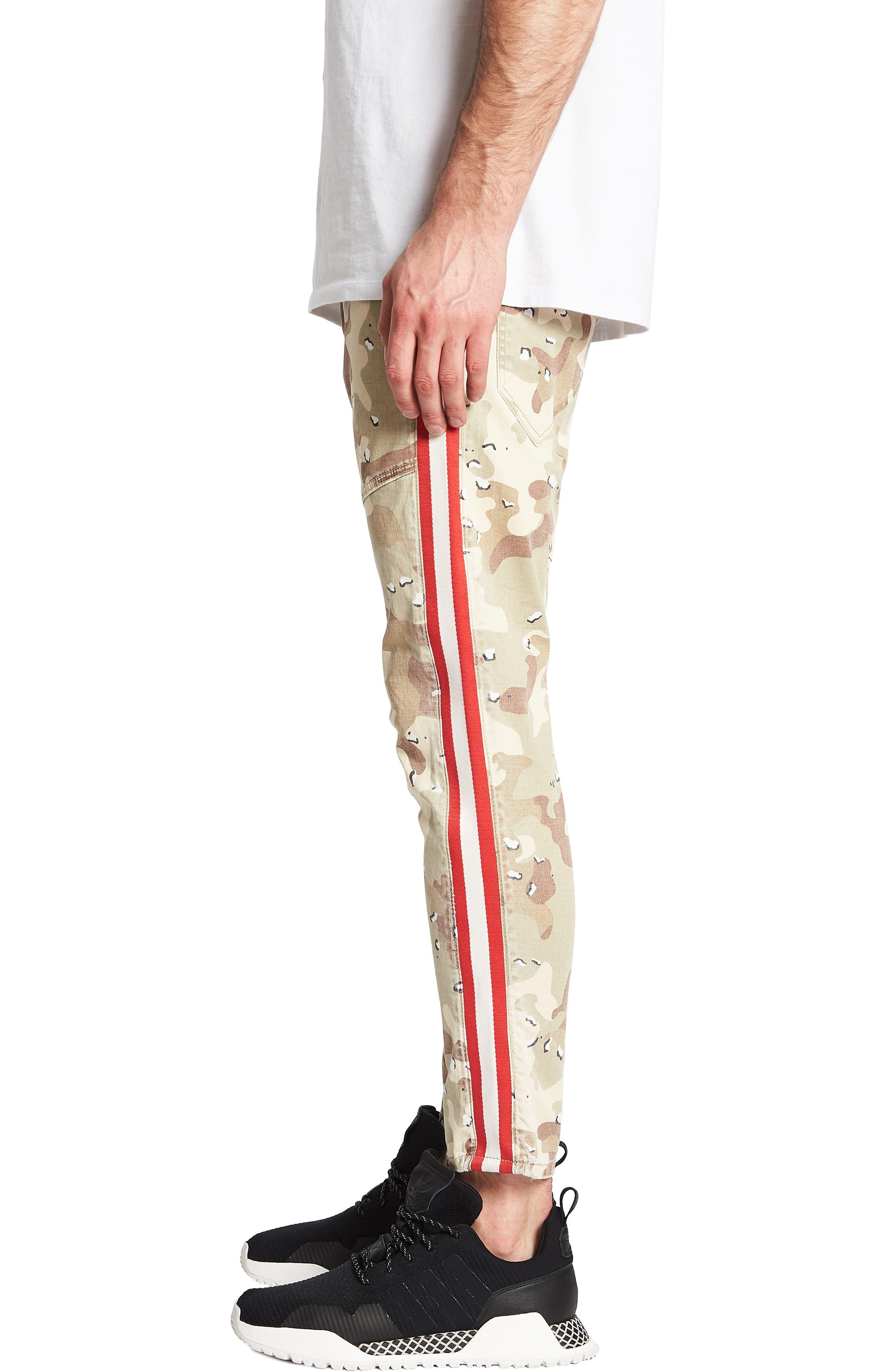 NXP,                             Sergeant Slim Fit Pants,                             Alternate thumbnail 3, color,                             CHOC CHIP CAMO
