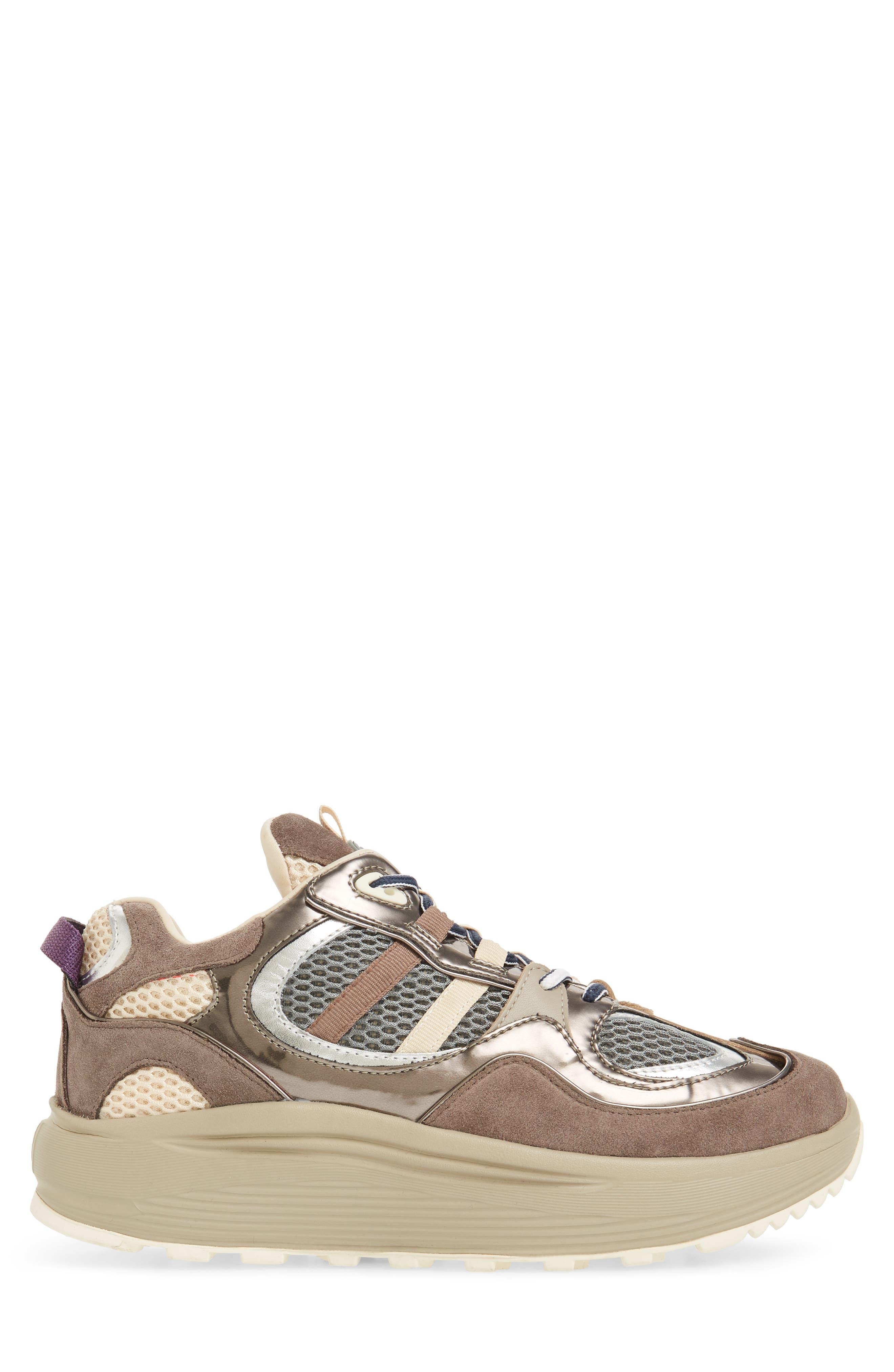 Jet Turbo Flatform Sneaker,                             Alternate thumbnail 3, color,                             060