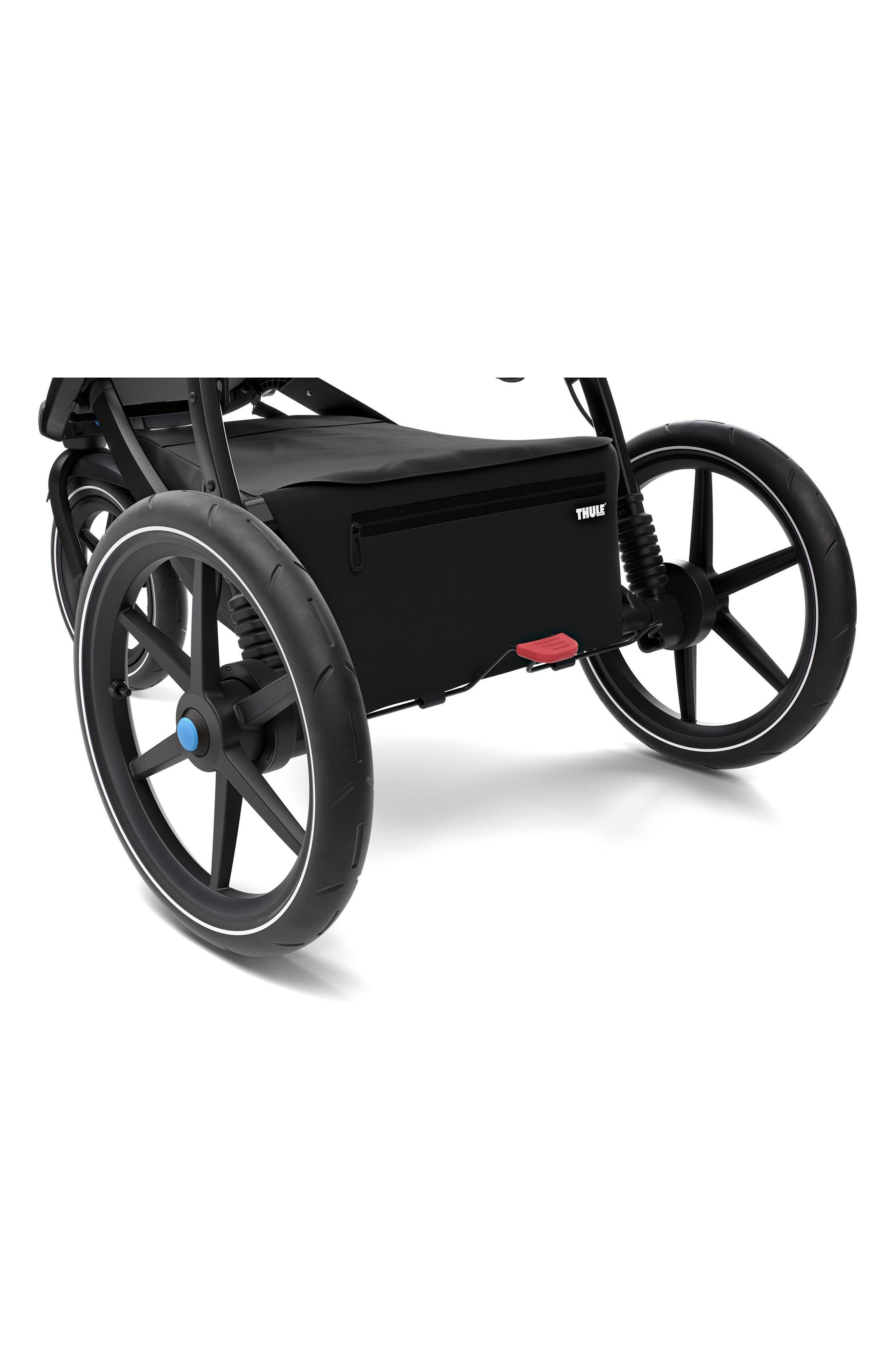 THULE,                             Urban Glide 2 Jogging Stroller with Black Frame,                             Alternate thumbnail 4, color,                             006
