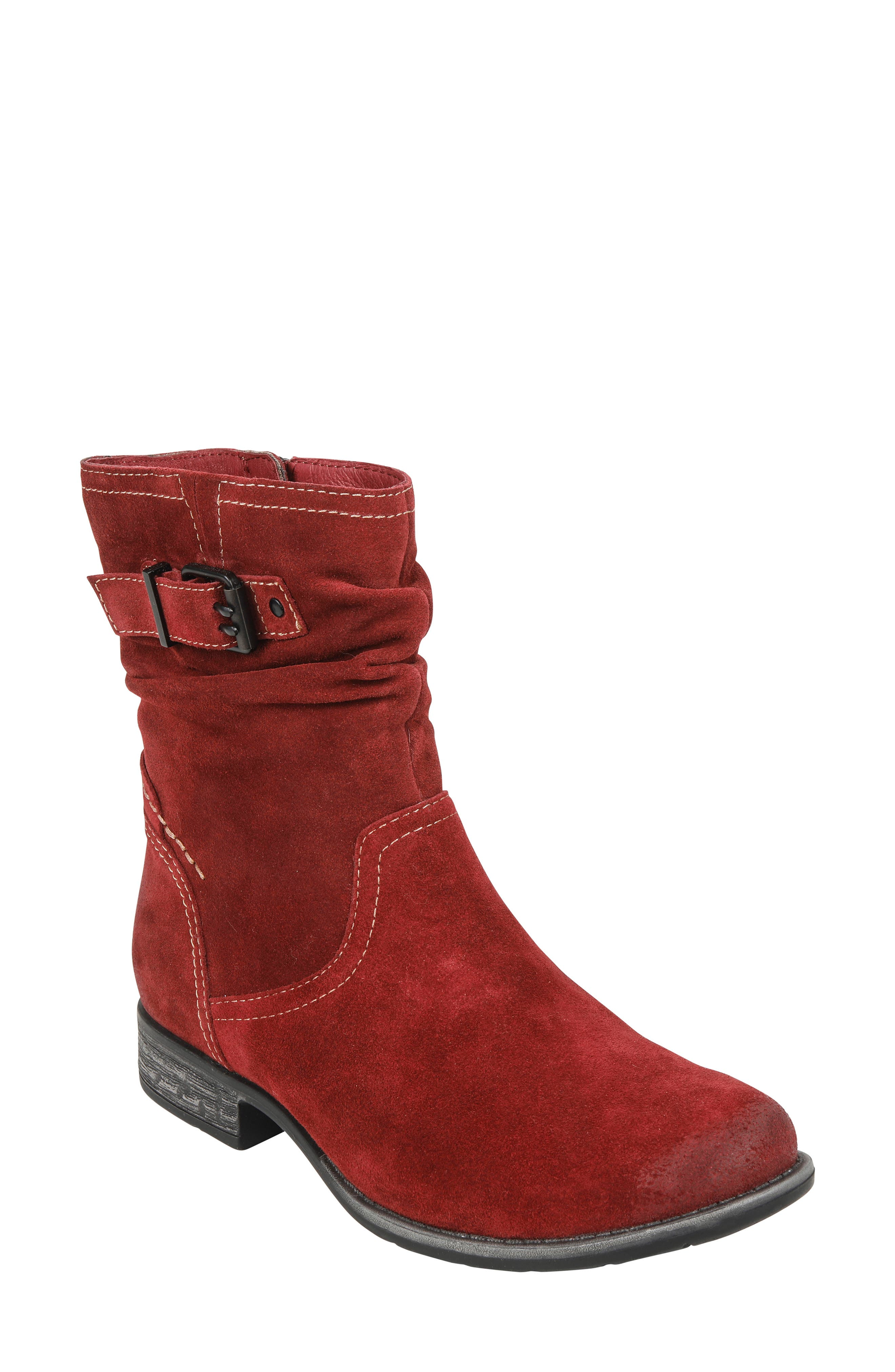 Beaufort Boot,                             Main thumbnail 1, color,                             GARNET SUEDE