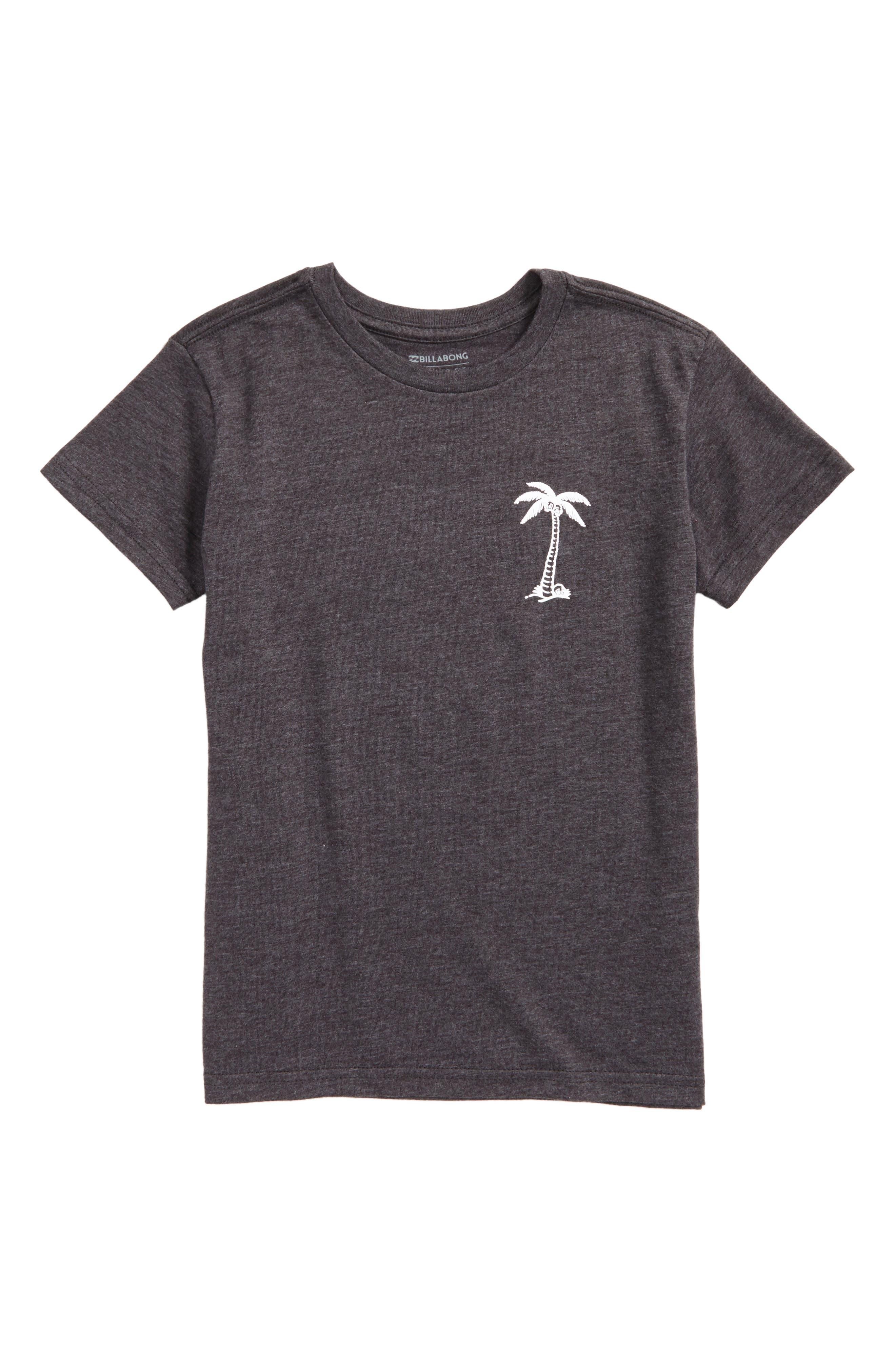 BBTV Palm Tree Graphic T-Shirt,                             Main thumbnail 1, color,                             002