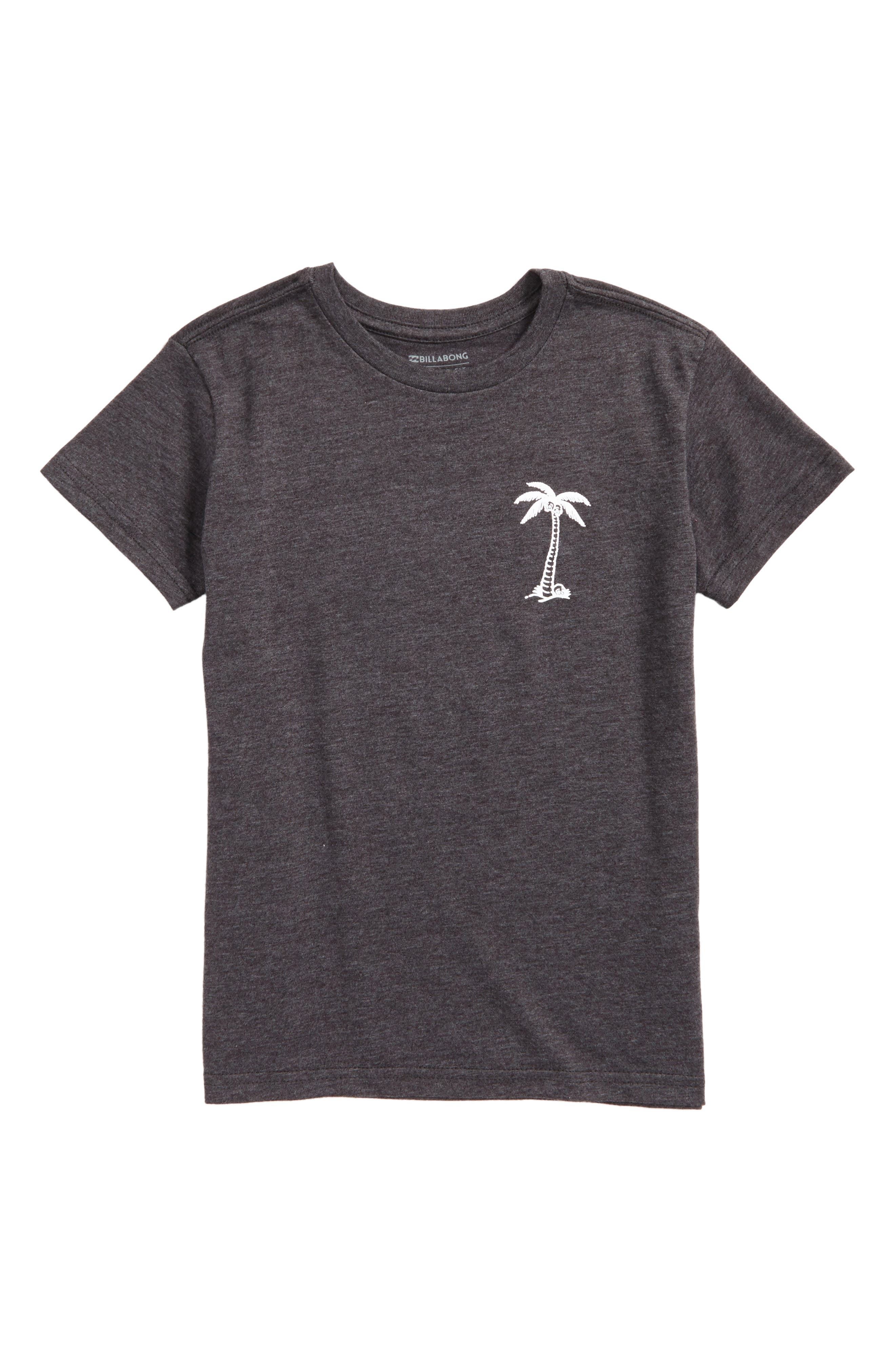 BBTV Palm Tree Graphic T-Shirt,                         Main,                         color,