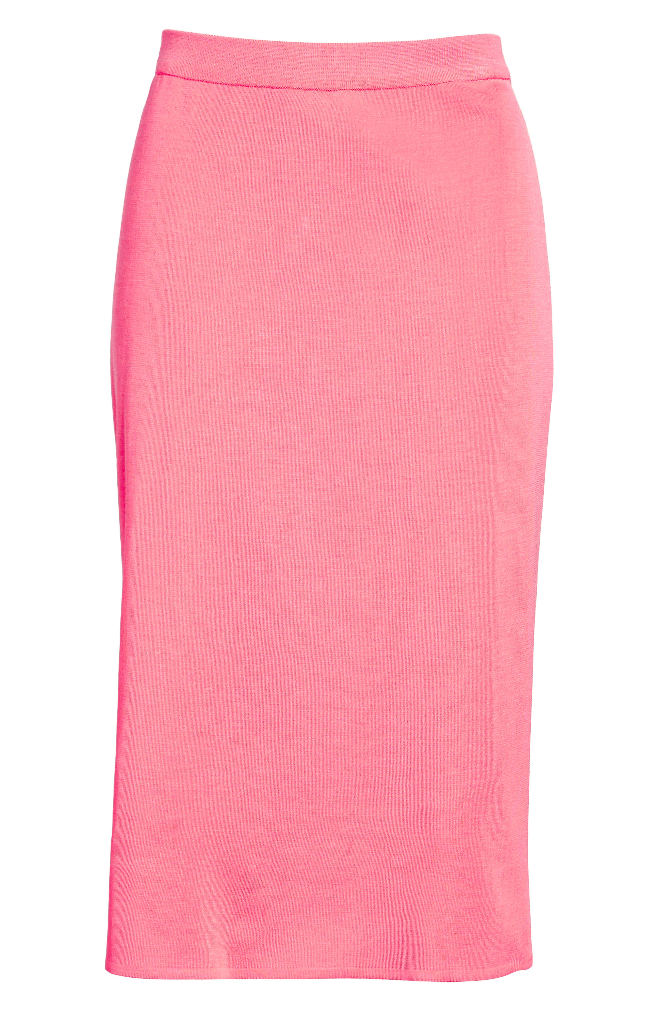 Straight Skirt,                             Alternate thumbnail 6, color,                             PINK LEMONADE