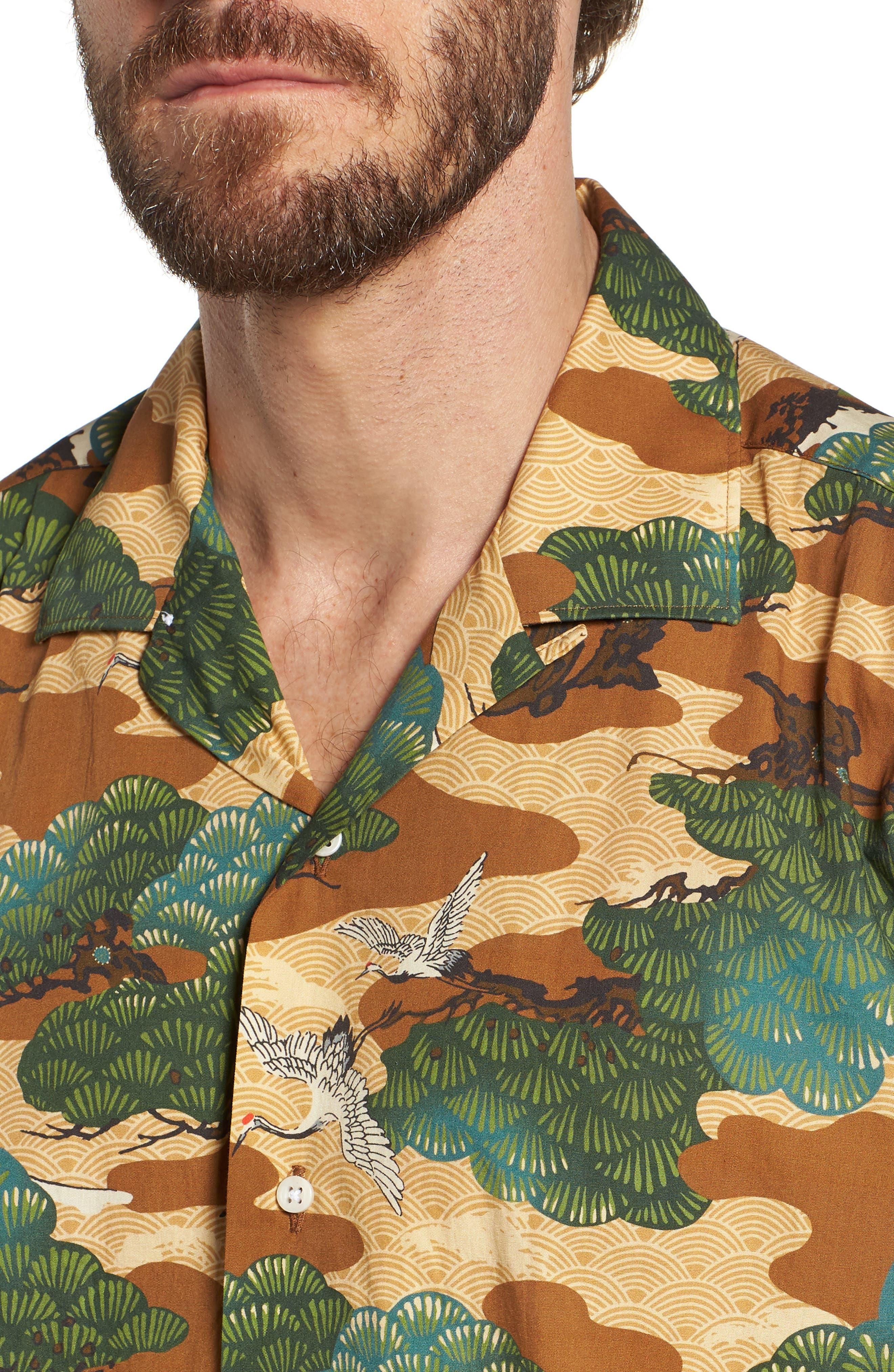 Camp Shirt,                             Alternate thumbnail 4, color,                             960