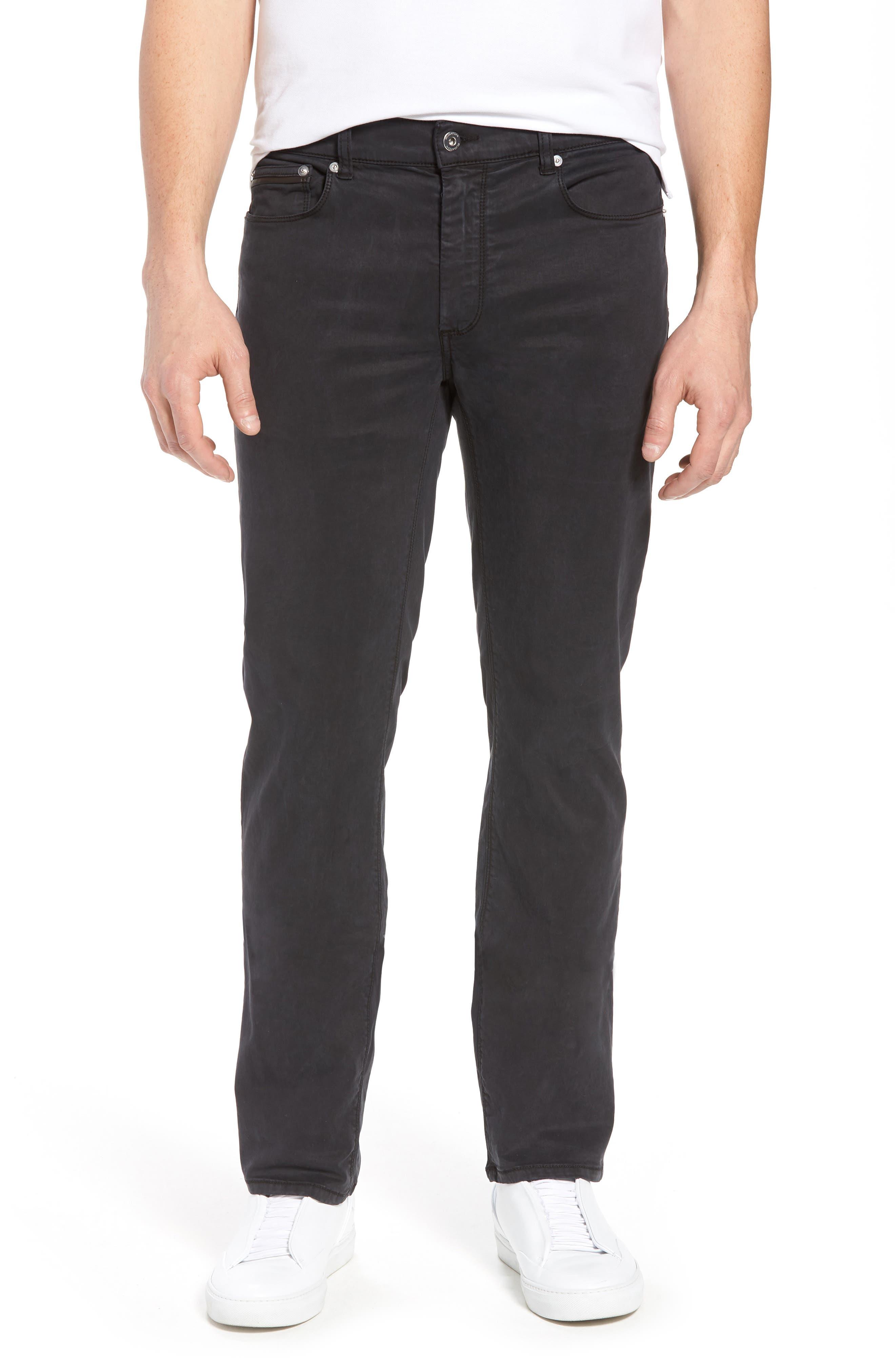 Slim Fit Washed Five-Pocket Pants,                         Main,                         color,