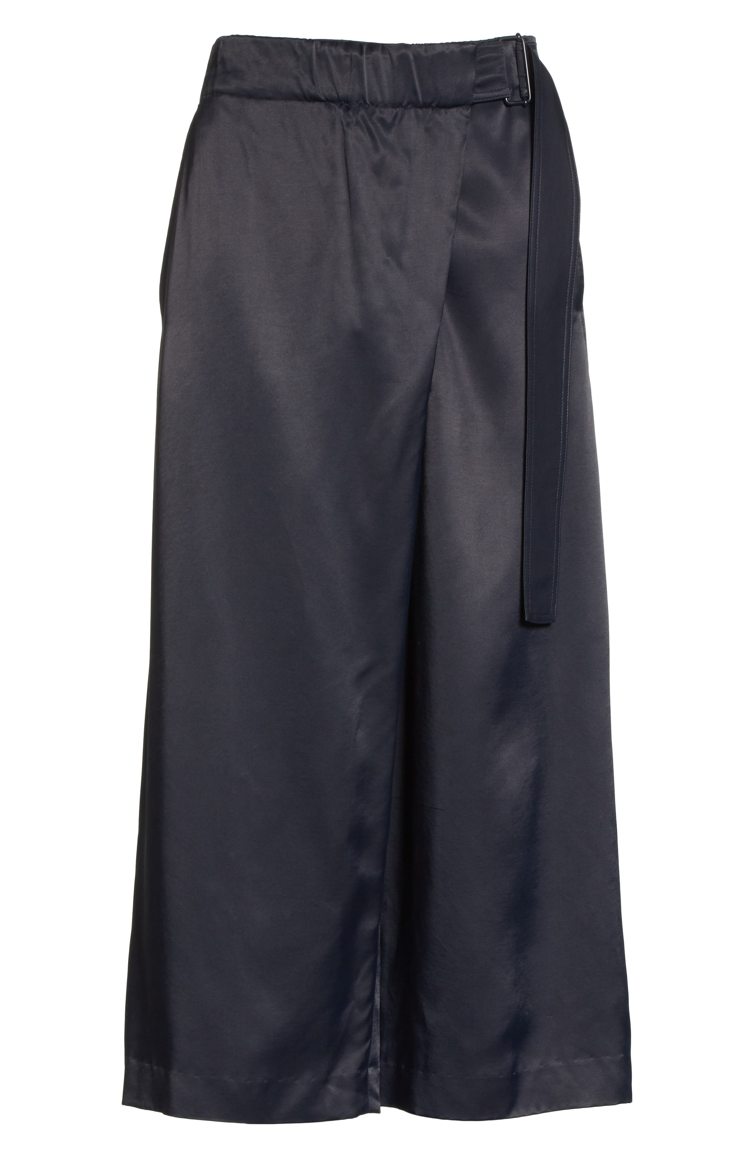 Belted Crossover Culottes,                             Alternate thumbnail 11, color,