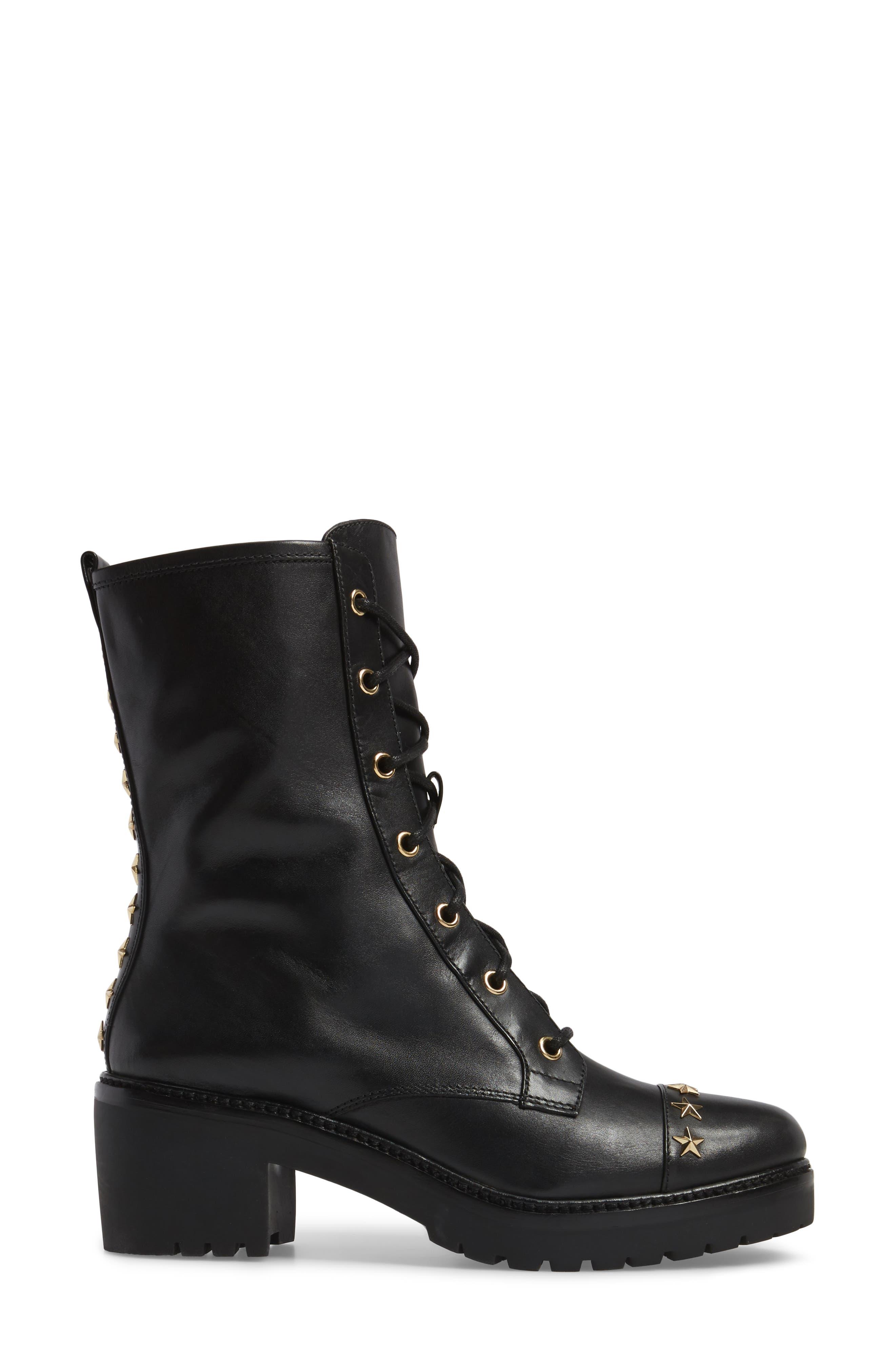 Cody Combat Boot,                             Alternate thumbnail 3, color,                             001