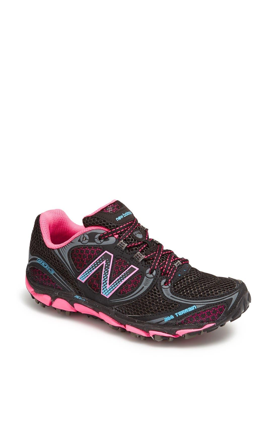 '810' Trail Running Shoe,                             Main thumbnail 1, color,                             018