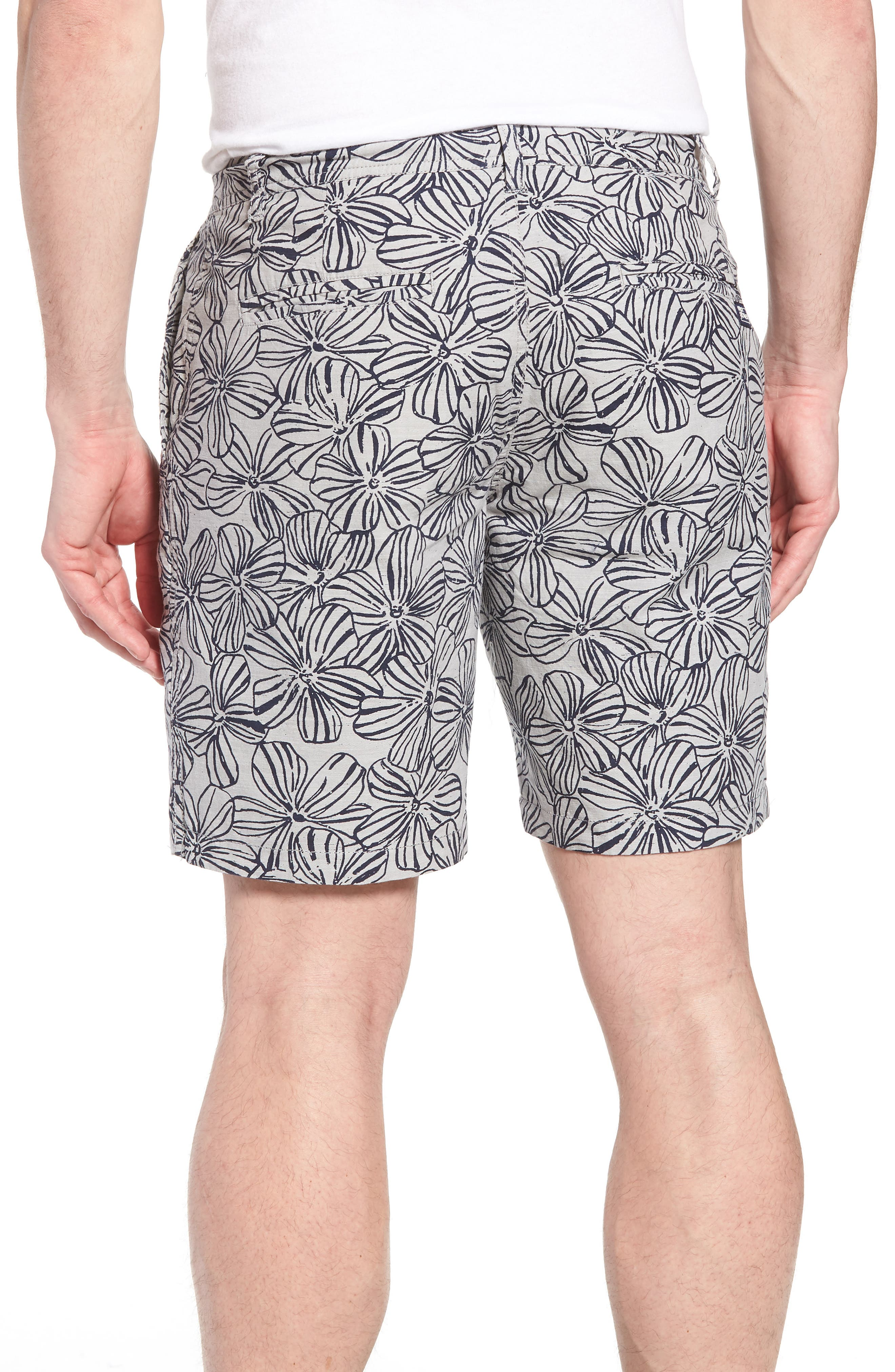 Mala Melia Reversible Chino Shorts,                             Alternate thumbnail 3, color,                             030